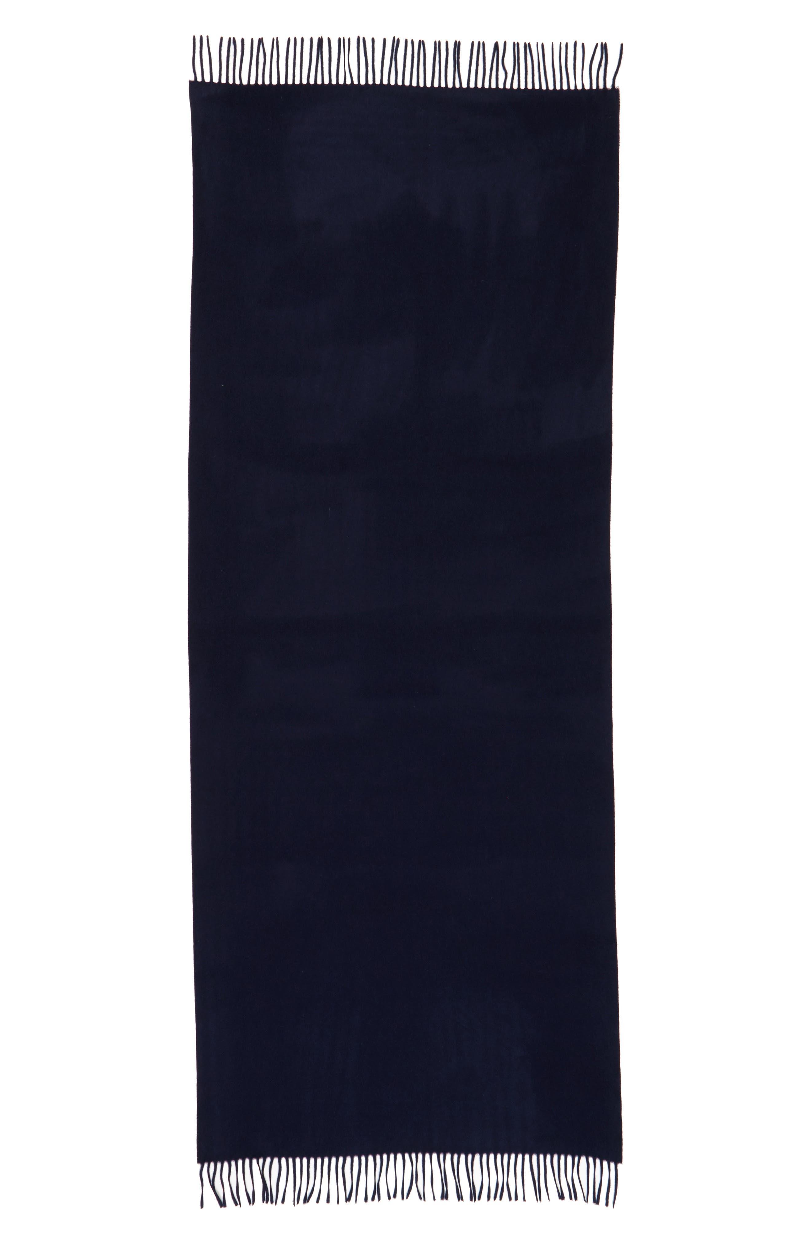 Cashmere Wrap Scarf,                             Main thumbnail 1, color,                             001