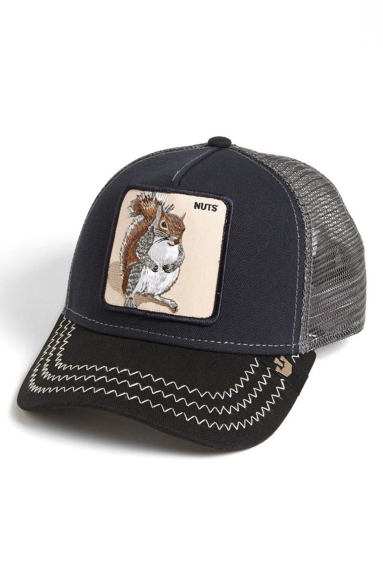 Goorin Brothers  Animal Farm - Squirrel Master  Snapback Trucker Hat ... 30c44e19377
