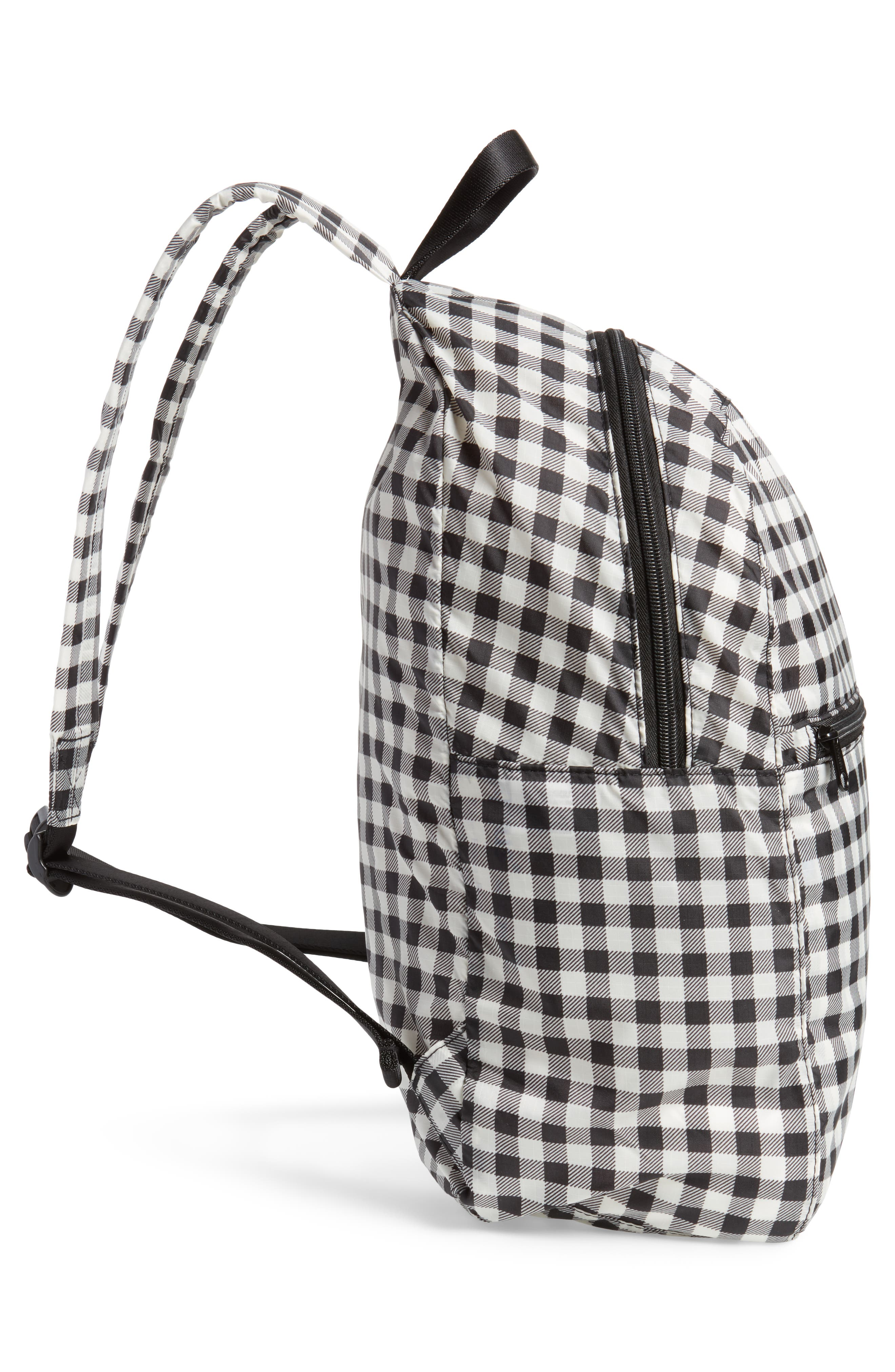 Ripstop Nylon Backpack,                             Alternate thumbnail 5, color,                             006