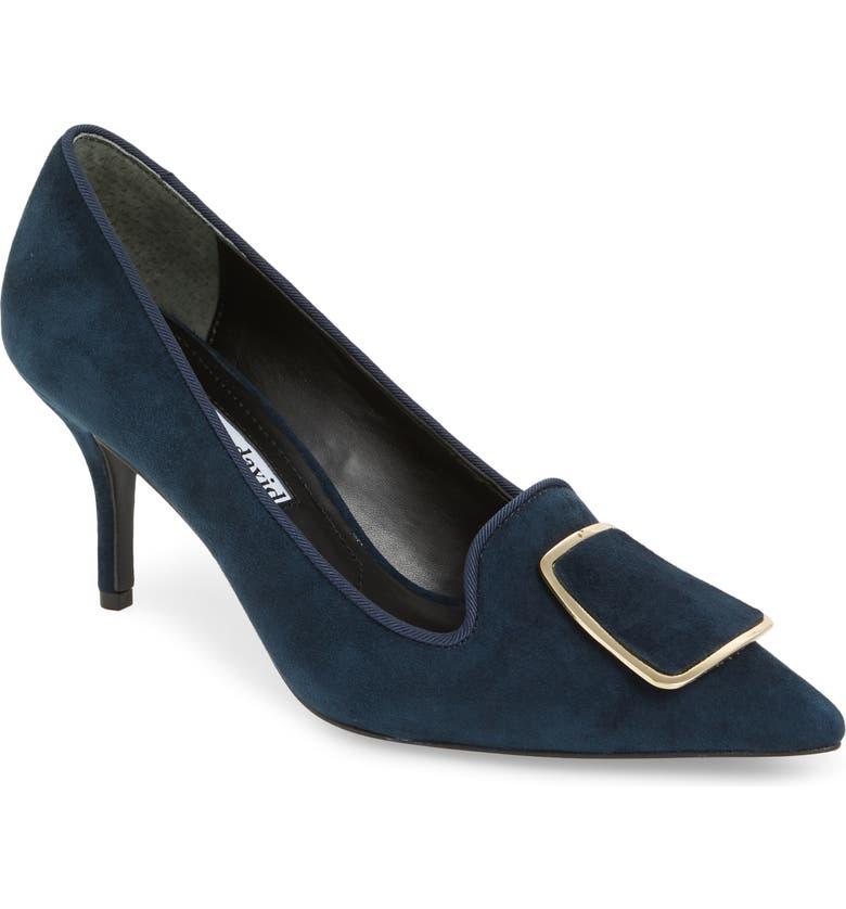 20d843b91632b Charles David Women'S Aramina Pointed Toe High-Heel Pumps In Navy Suede