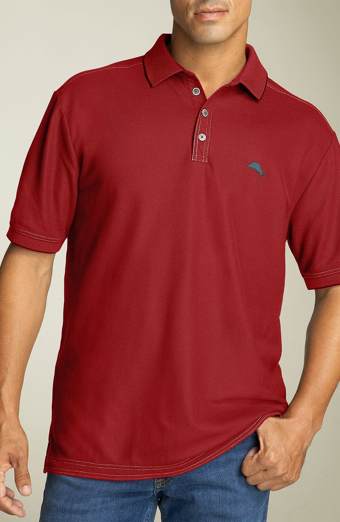 'The Emfielder' Original Fit Piqué Polo,                             Main thumbnail 104, color,
