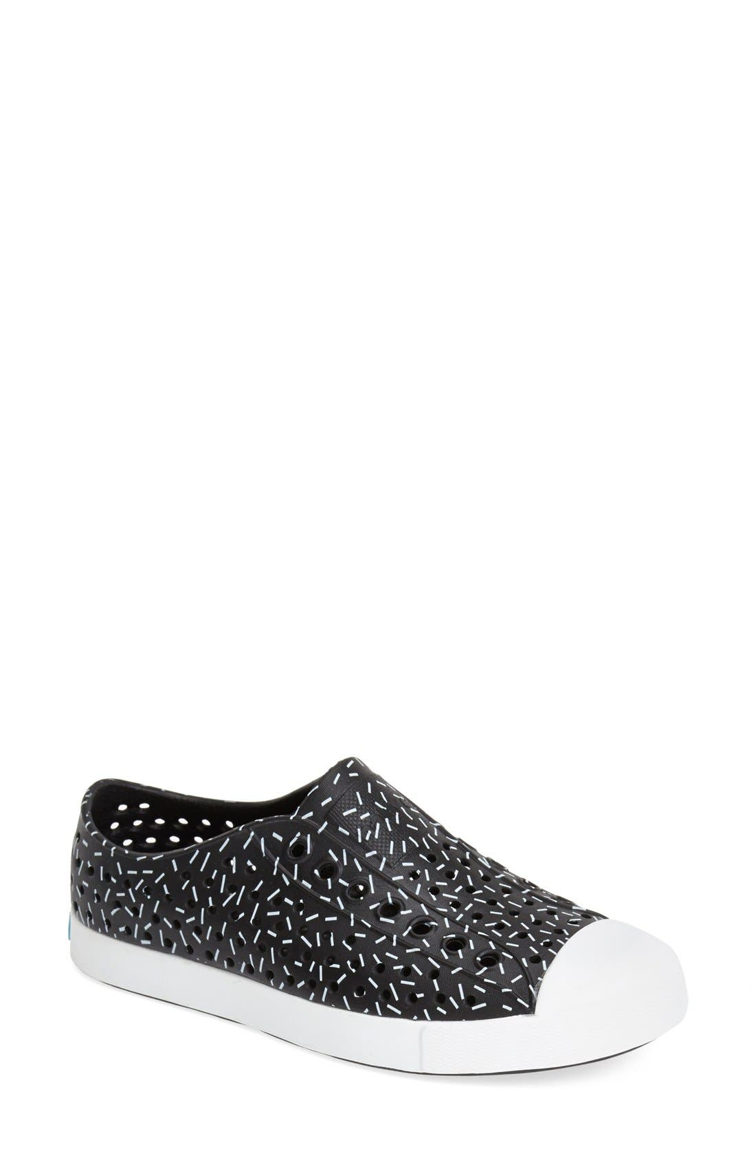 'Jefferson' Printed Slip-On Sneaker,                             Main thumbnail 2, color,