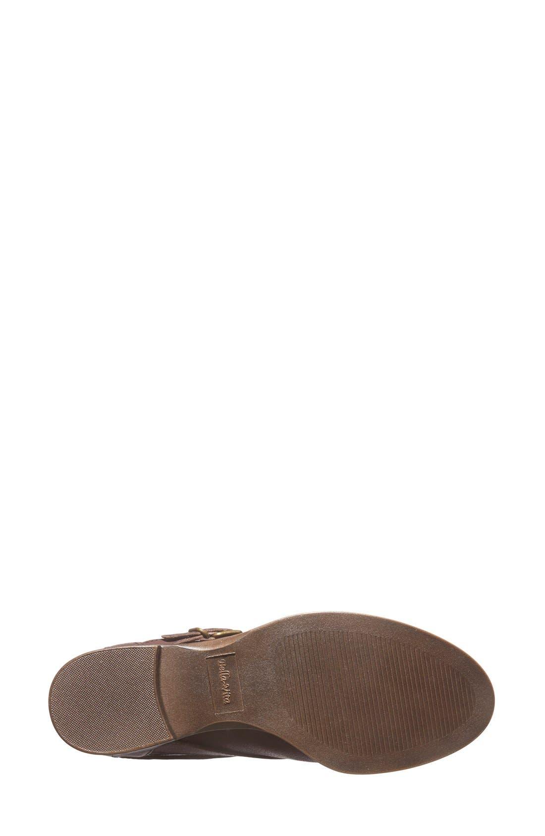 'Ronan' Buckle Leather Bootie,                             Alternate thumbnail 16, color,