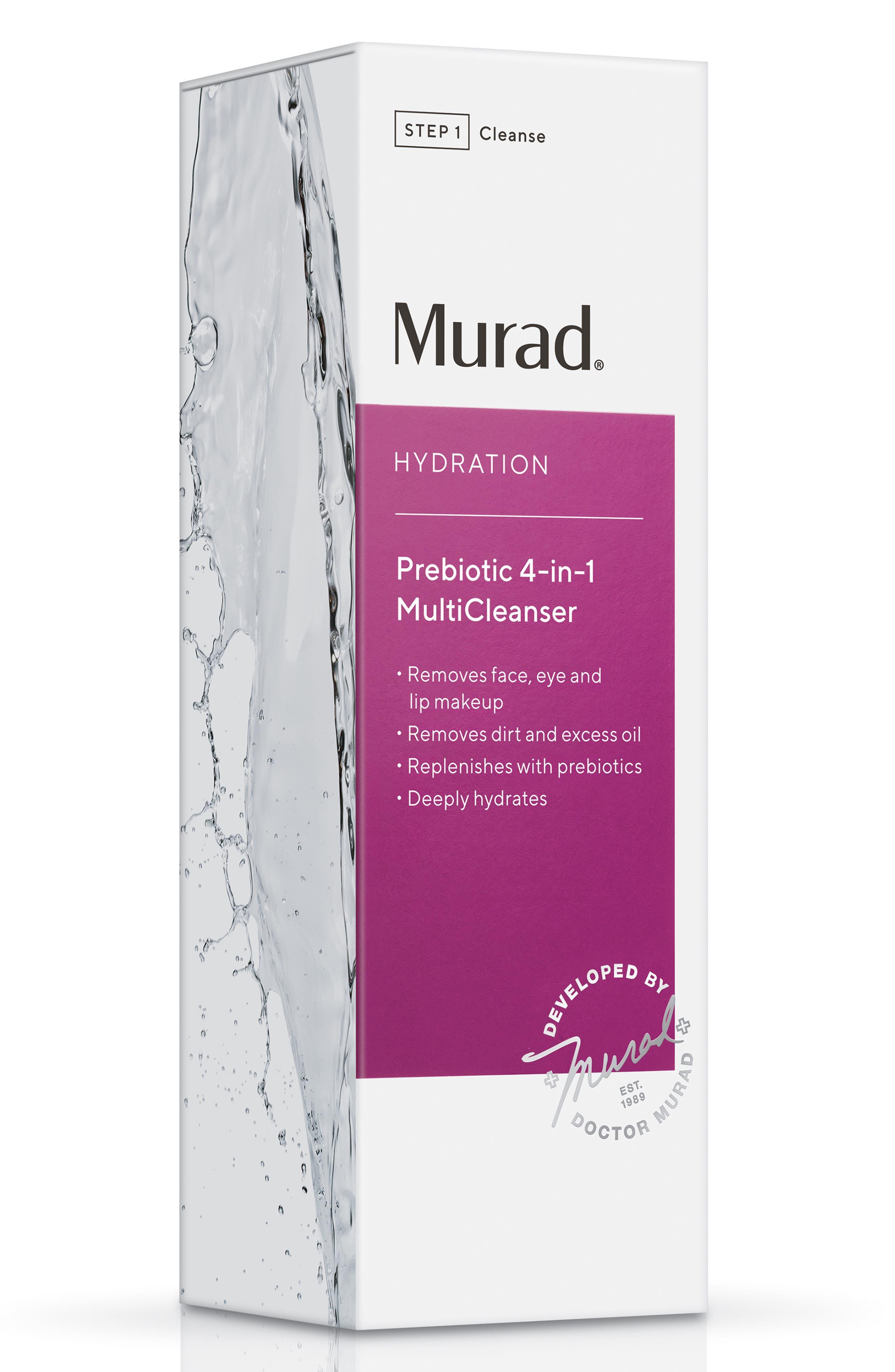 MURAD<SUP>®</SUP>,                             Prebiotic 4-in-1 MultiCleanser,                             Alternate thumbnail 2, color,                             000