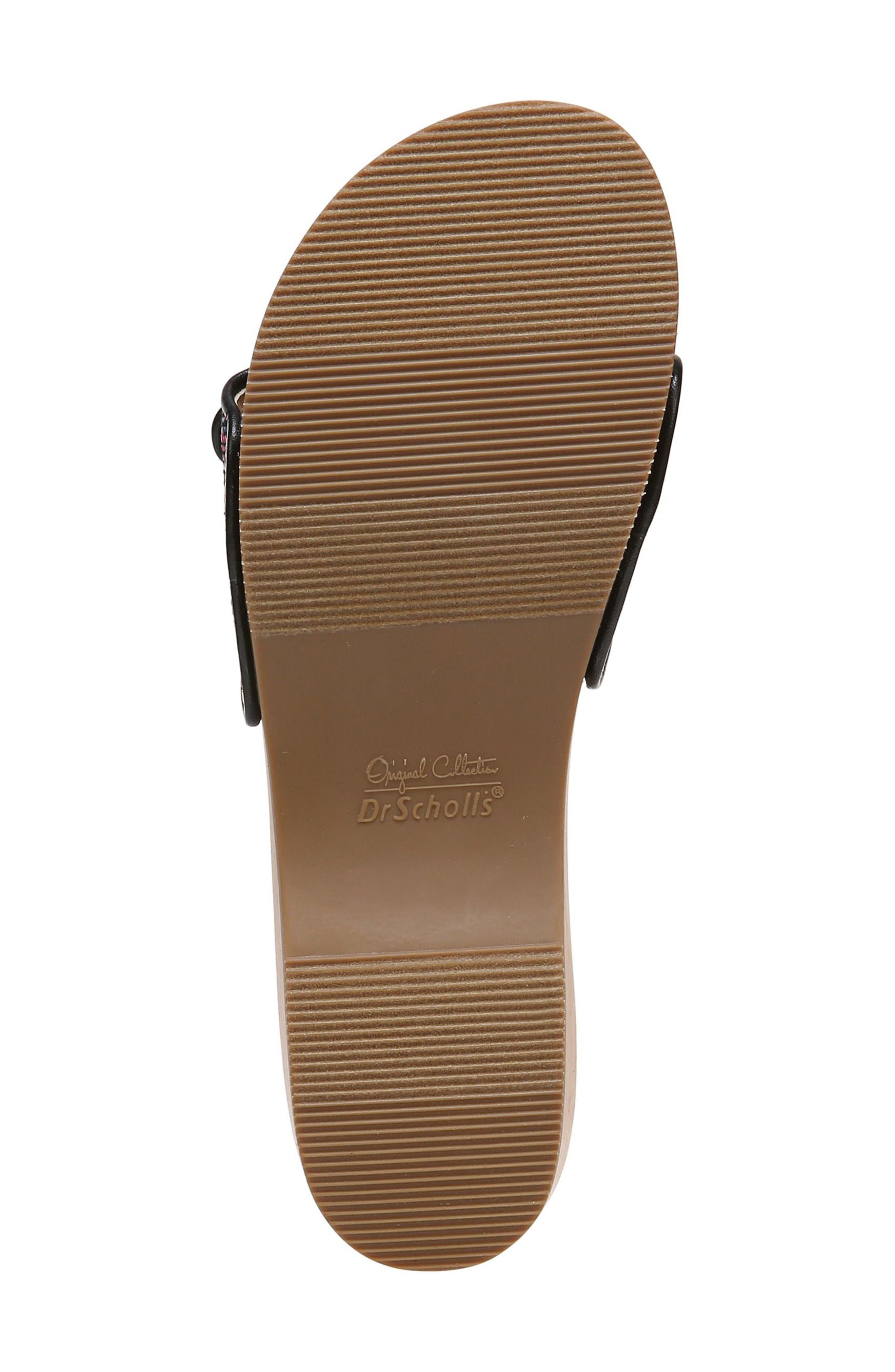 Original Collection 'Original Footbed' Sandal,                             Alternate thumbnail 6, color,                             001