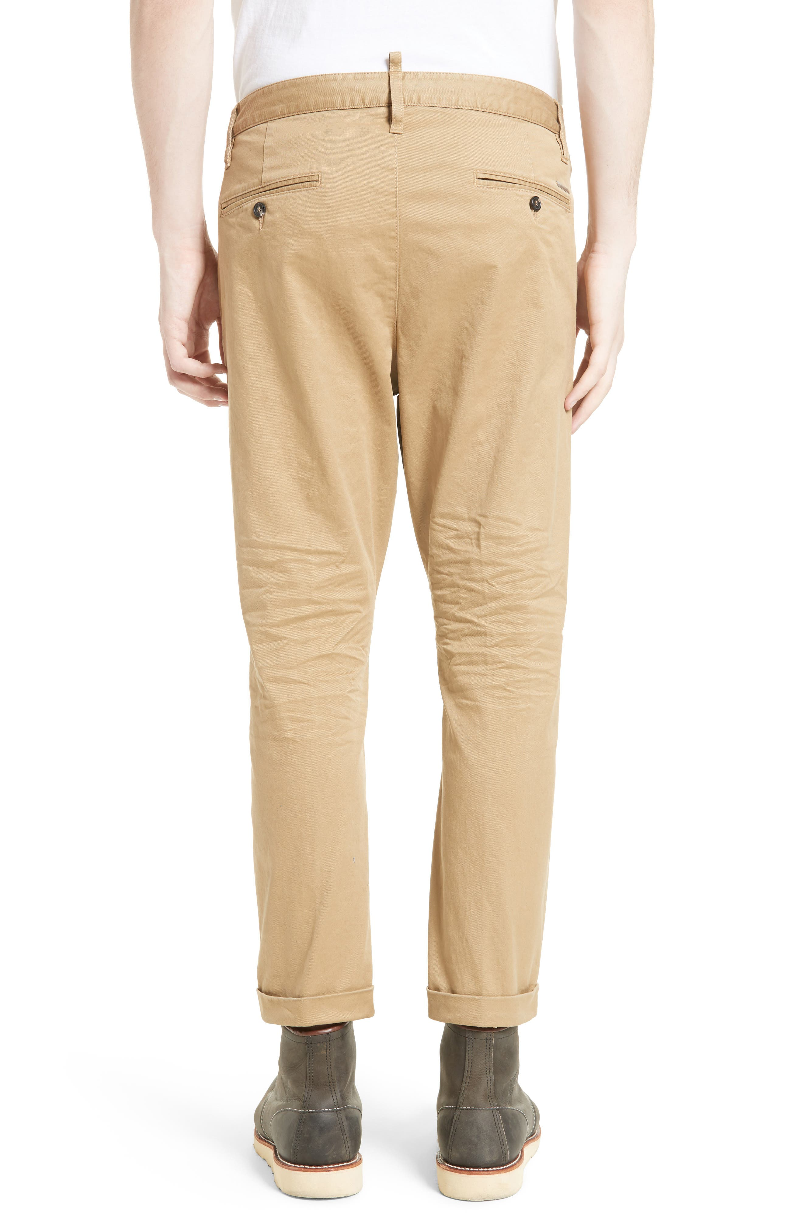Roll Cuff Chinos,                             Alternate thumbnail 2, color,                             250