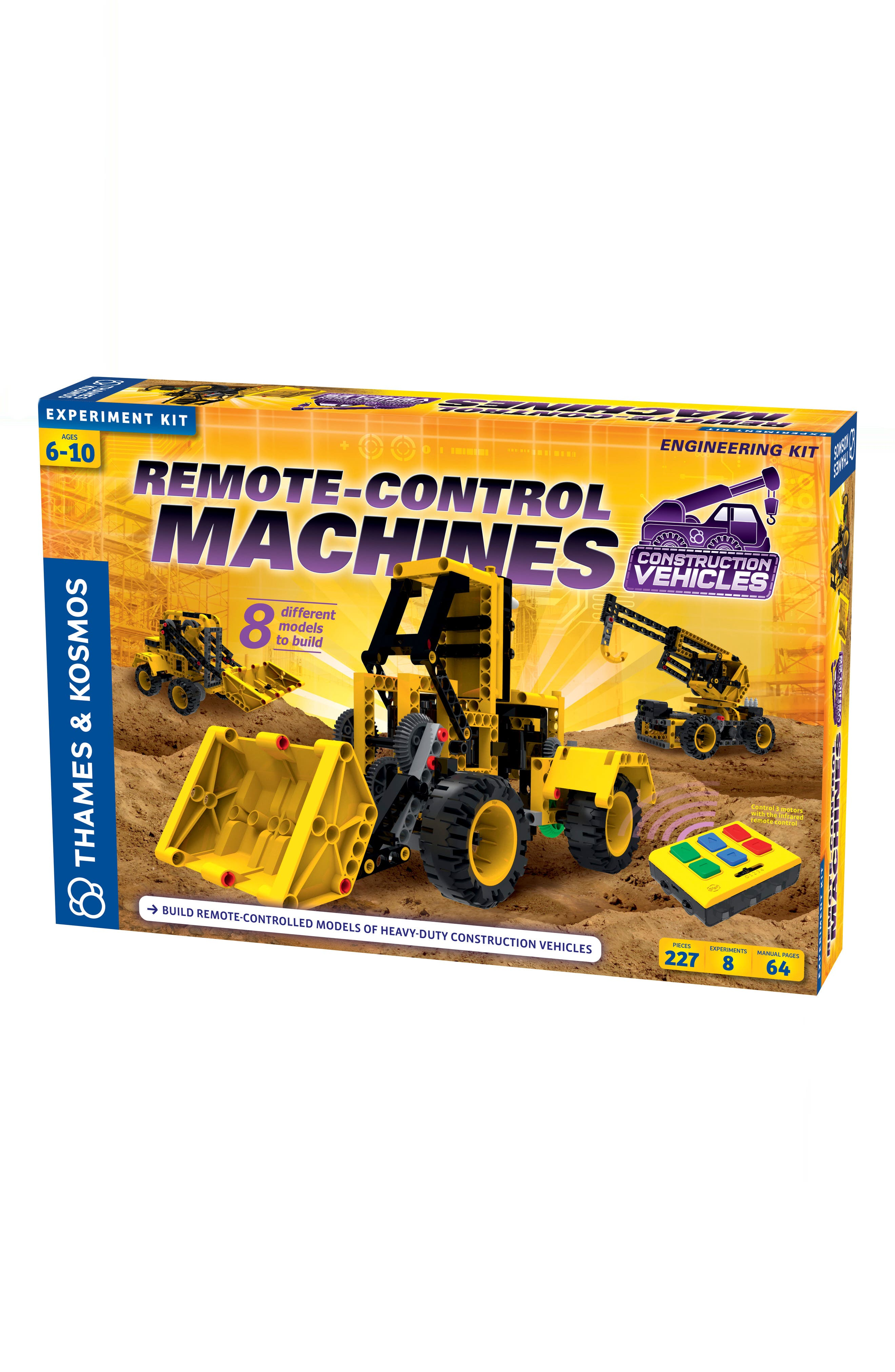 Remote Control Machines Construction Vehicles Kit,                         Main,                         color, MULTI