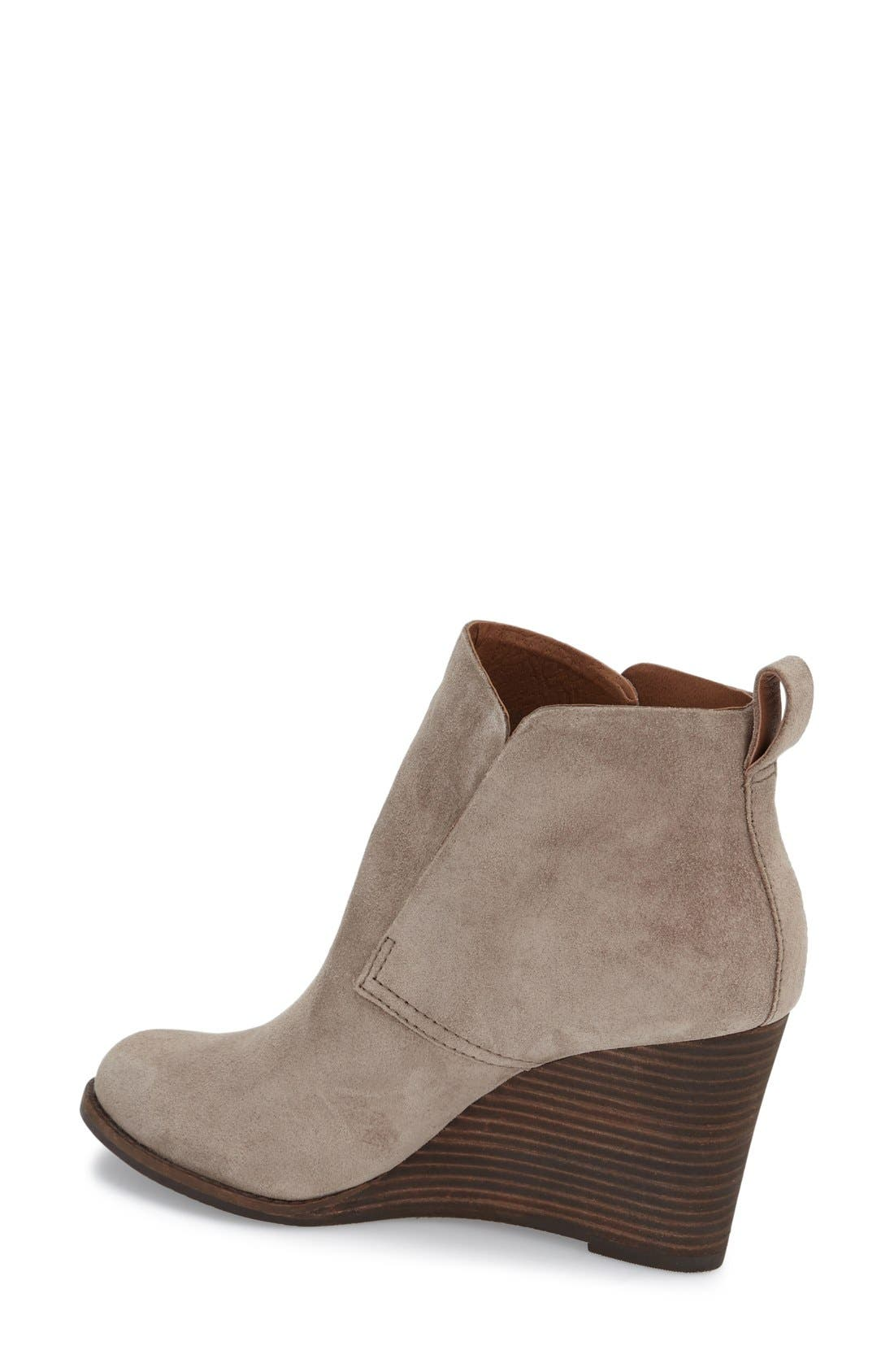 'Yoniana' Wedge Bootie,                             Alternate thumbnail 9, color,