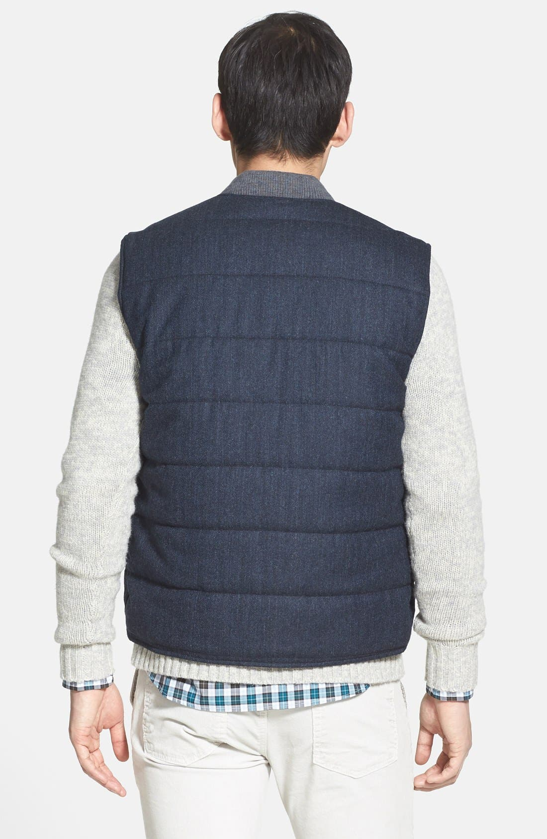 Quilted Vest,                             Alternate thumbnail 3, color,                             409