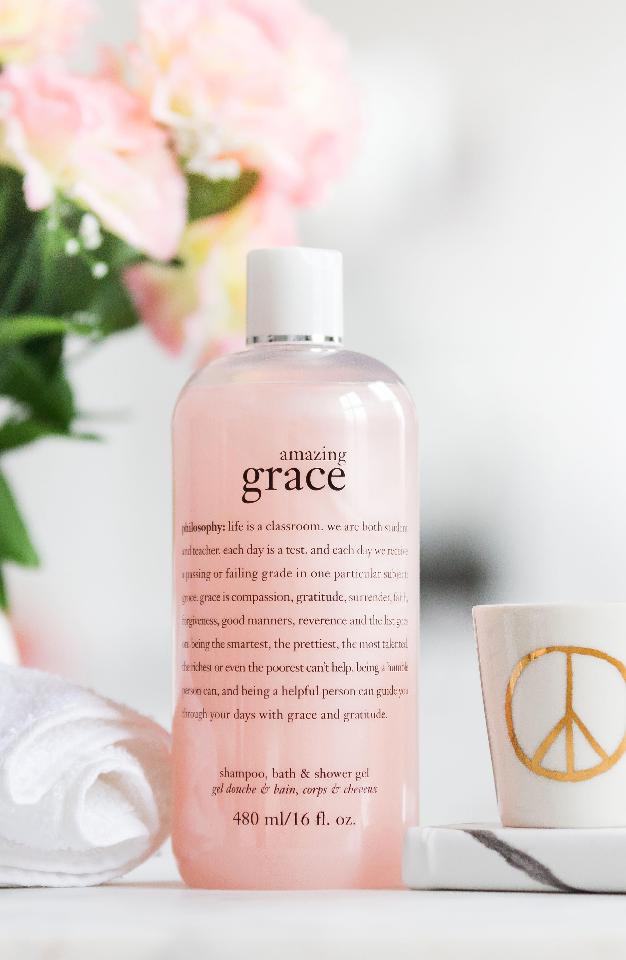 'amazing grace' shampoo, bath & shower gel,                             Alternate thumbnail 2, color,                             NO COLOR