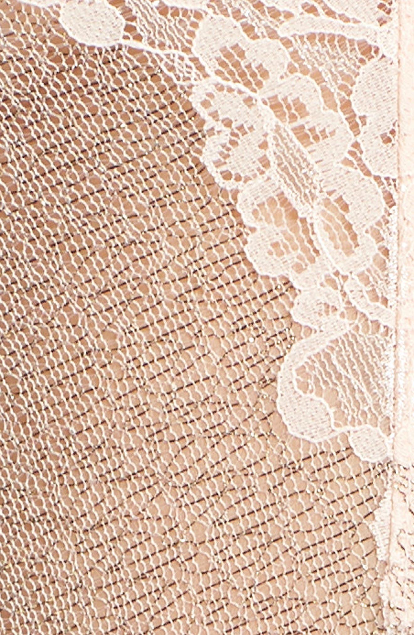 HANKY PANKY,                             Creme de la Creme Bodysuit,                             Alternate thumbnail 5, color,                             VANILLA