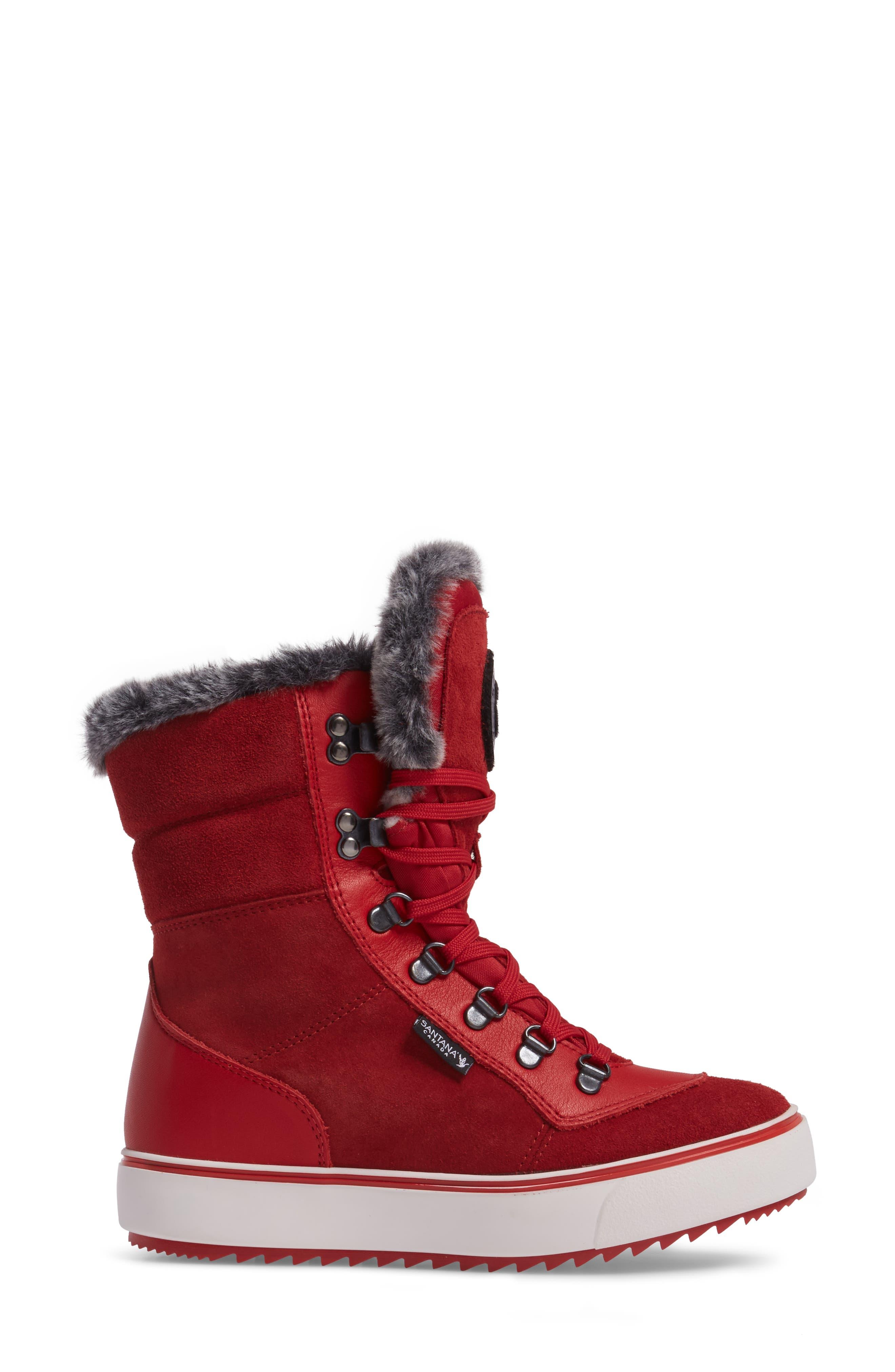 Mixx Faux Fur Waterproof Boot,                             Alternate thumbnail 9, color,