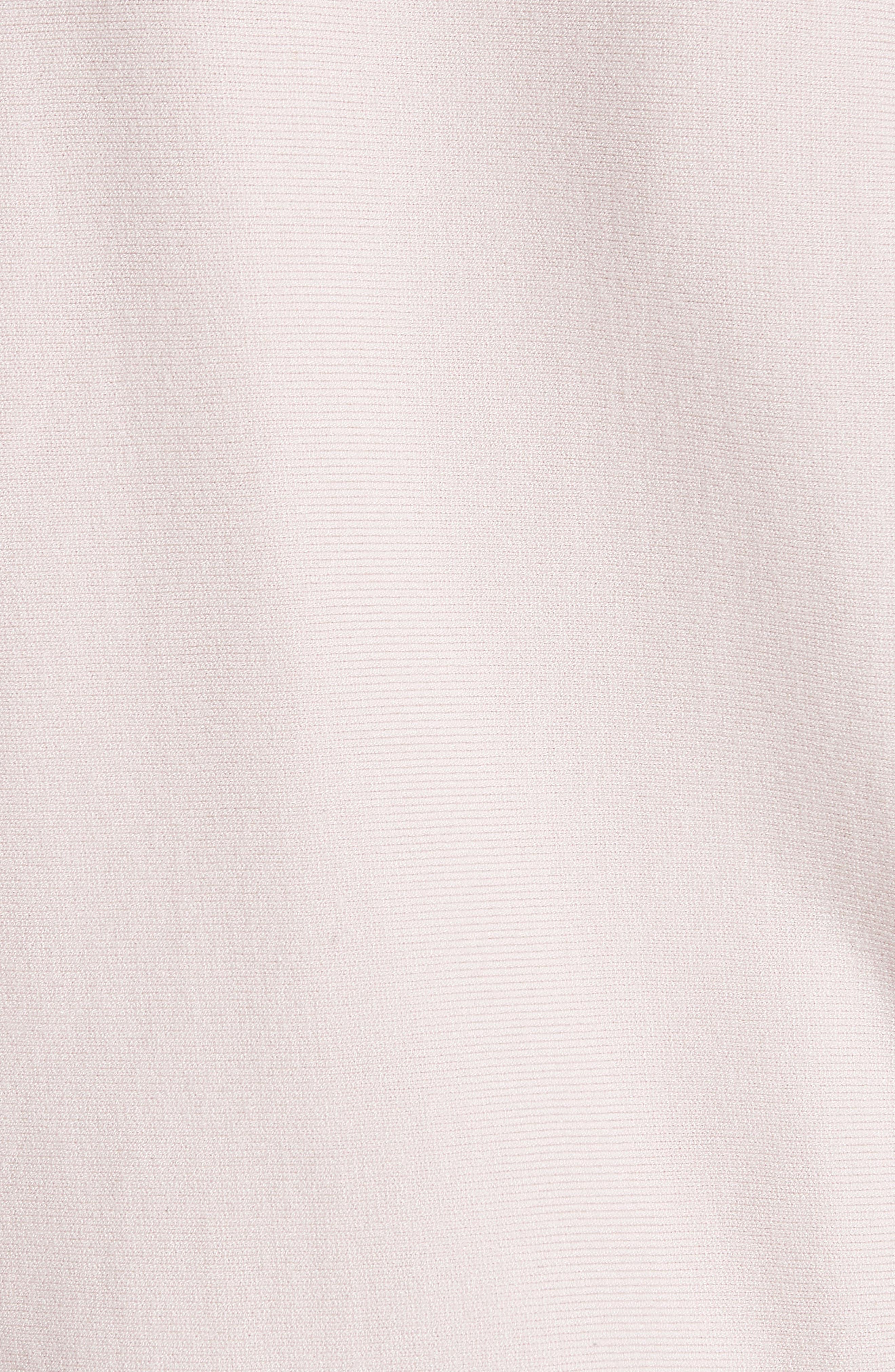 MILLY,                             Faux Gem Embellished Sweater,                             Alternate thumbnail 5, color,                             BALLET