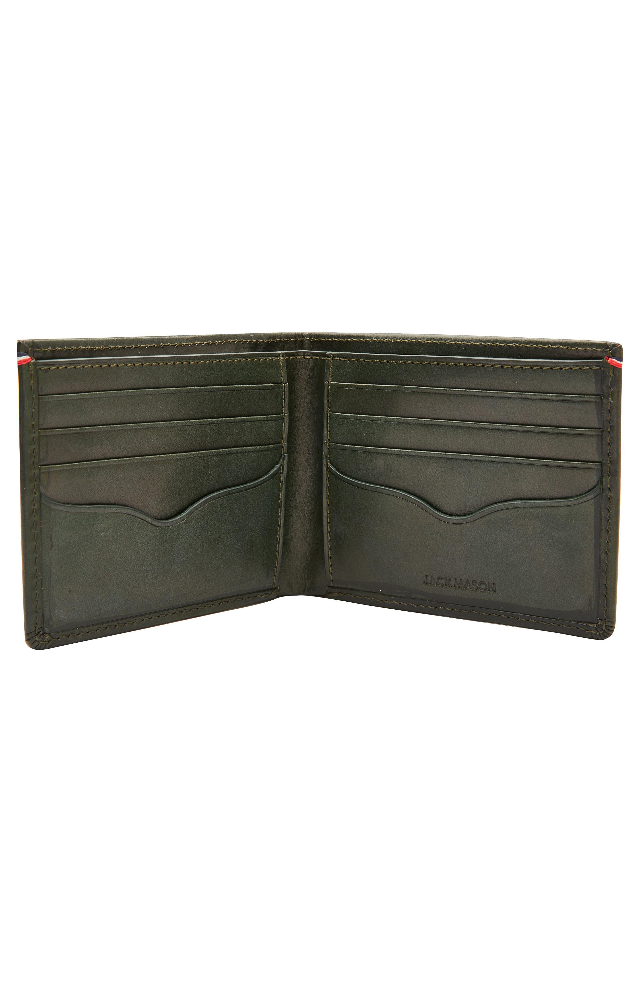 Core Leather Wallet,                             Alternate thumbnail 4, color,