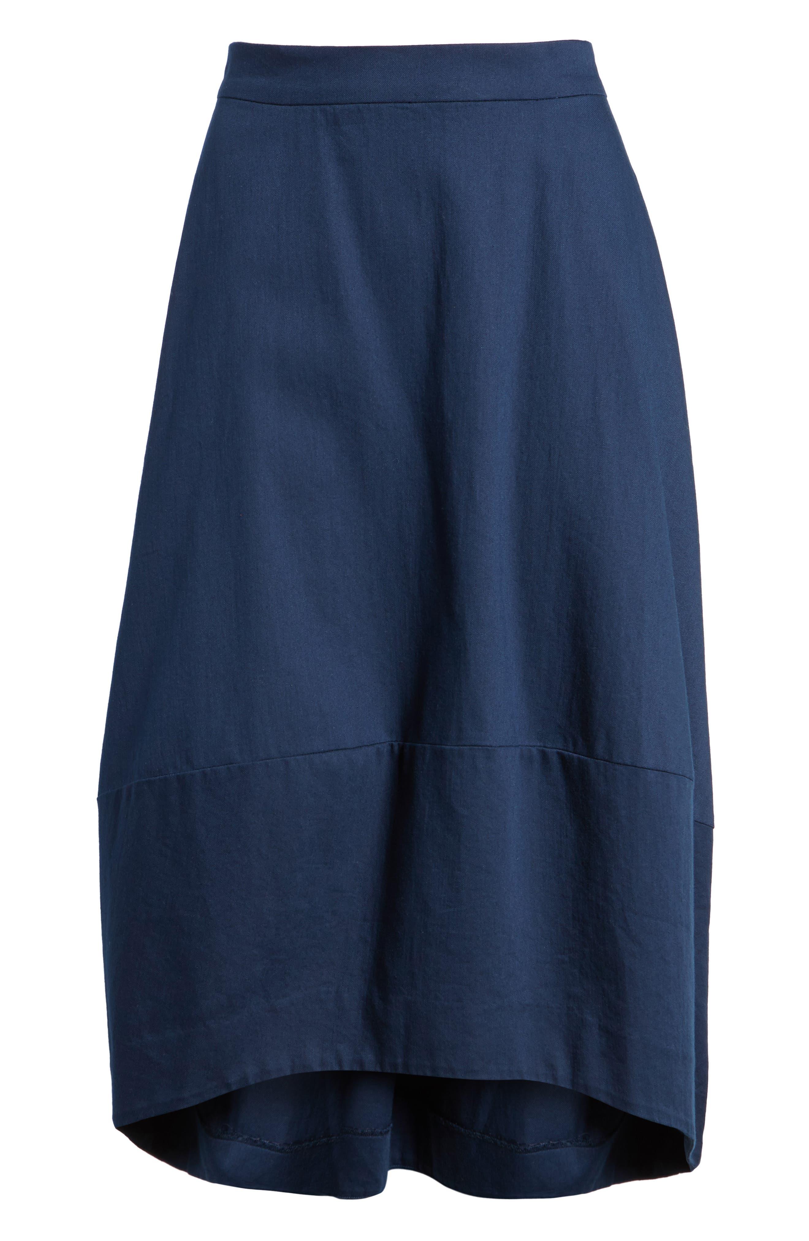 Organic Cotton Lantern Skirt,                             Alternate thumbnail 24, color,
