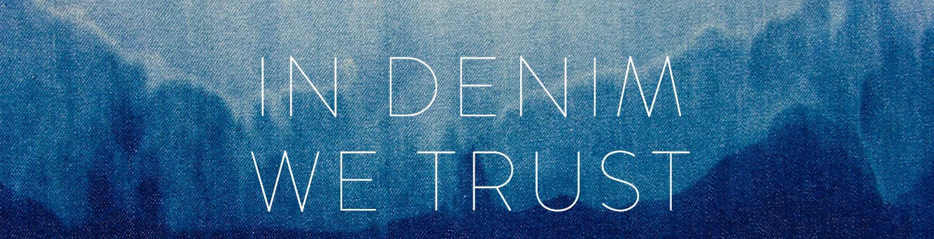 In Denim We Trust: denim styles from the street-style scene.