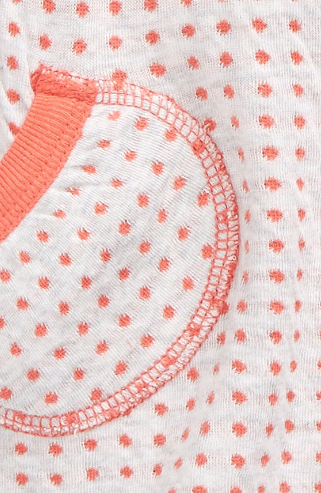 Organic Cotton Reversible Tunic & Pants,                             Alternate thumbnail 3, color,                             050