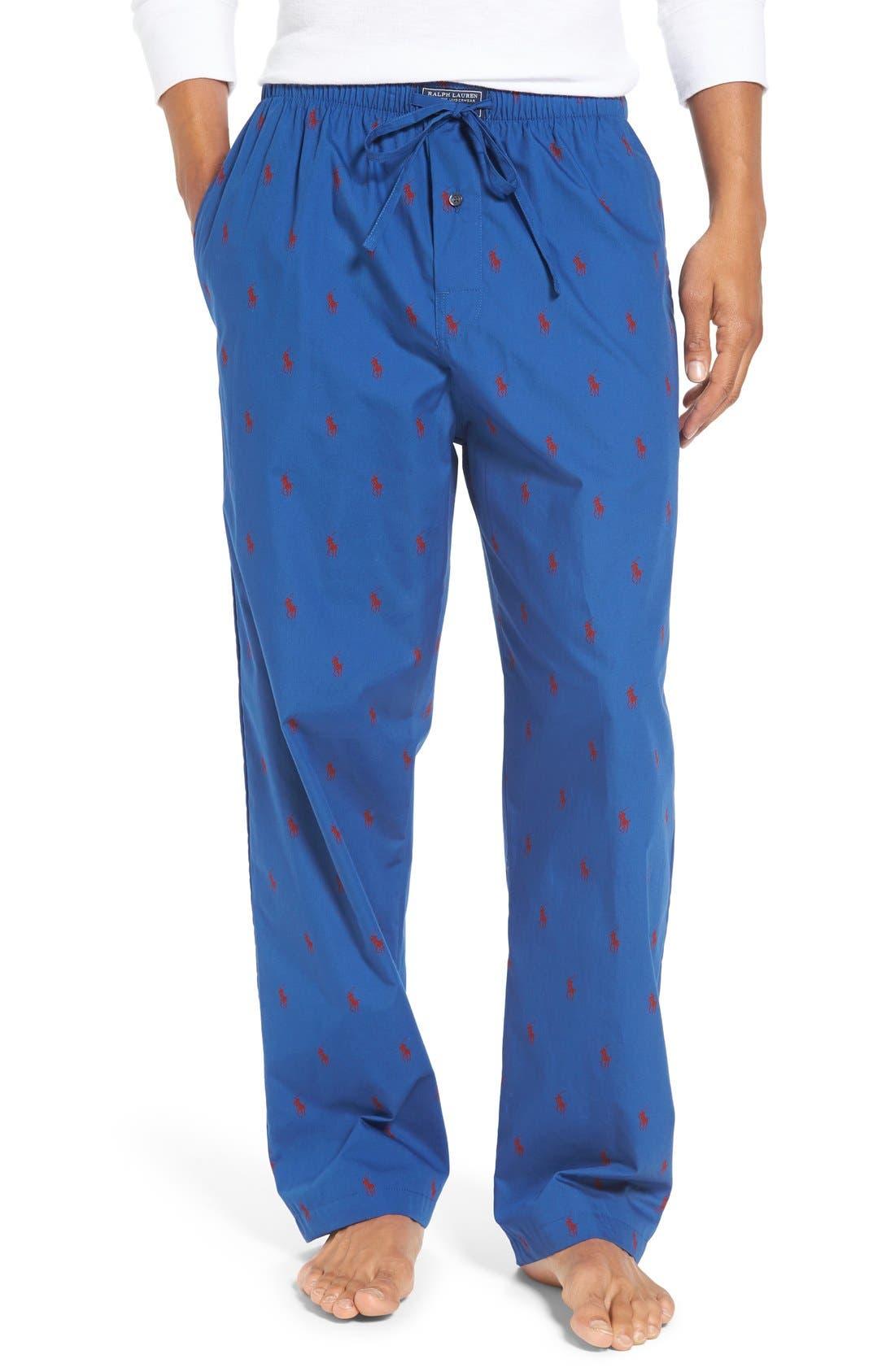 Cotton Lounge Pants,                             Main thumbnail 7, color,