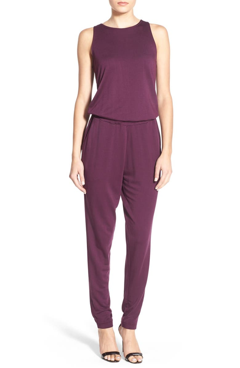 a89c872d9d4b cupcakes and cashmere  Date Night  Jersey Jumpsuit