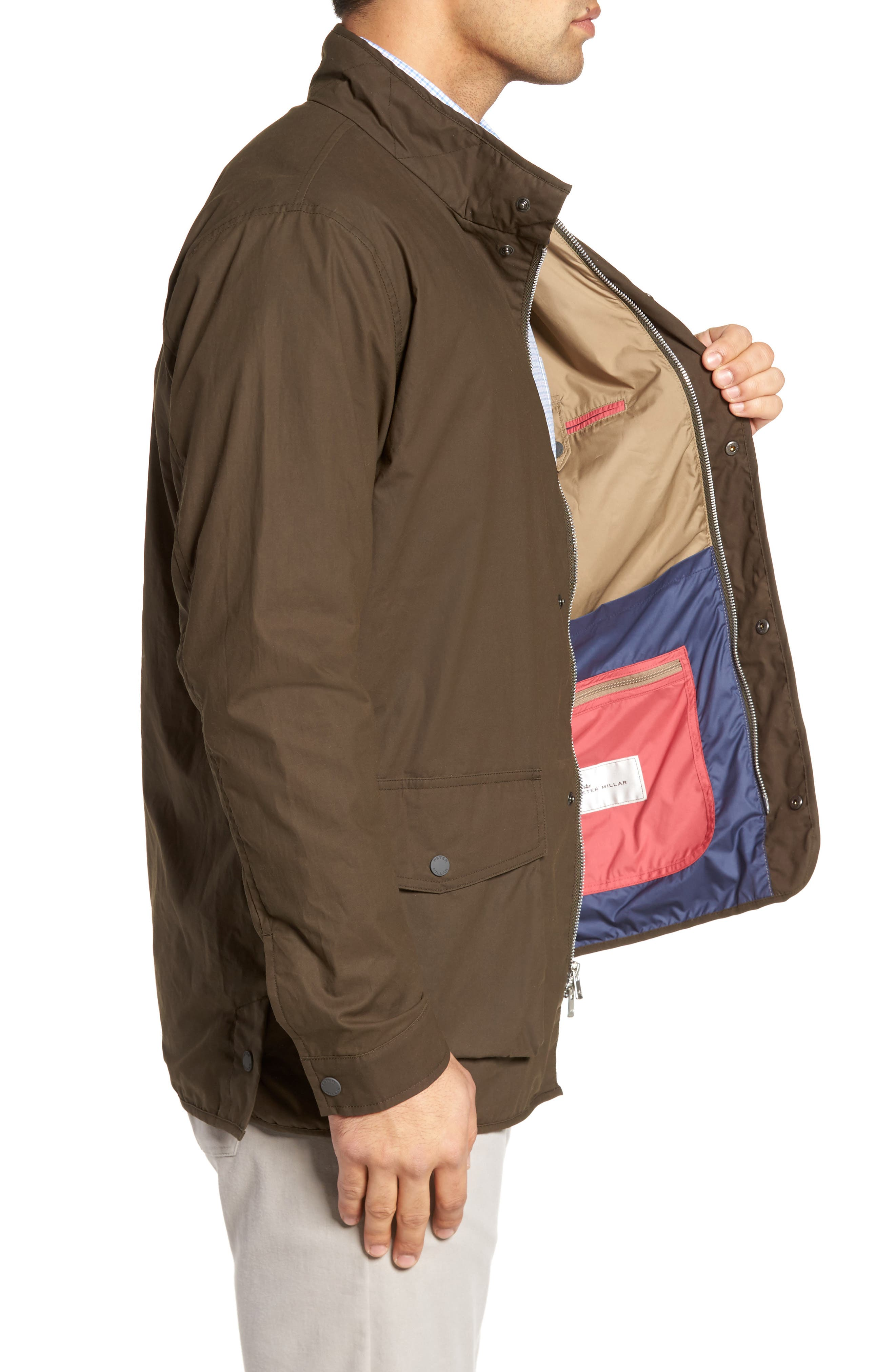 Harrison Wine Country Field Jacket,                             Alternate thumbnail 3, color,                             391