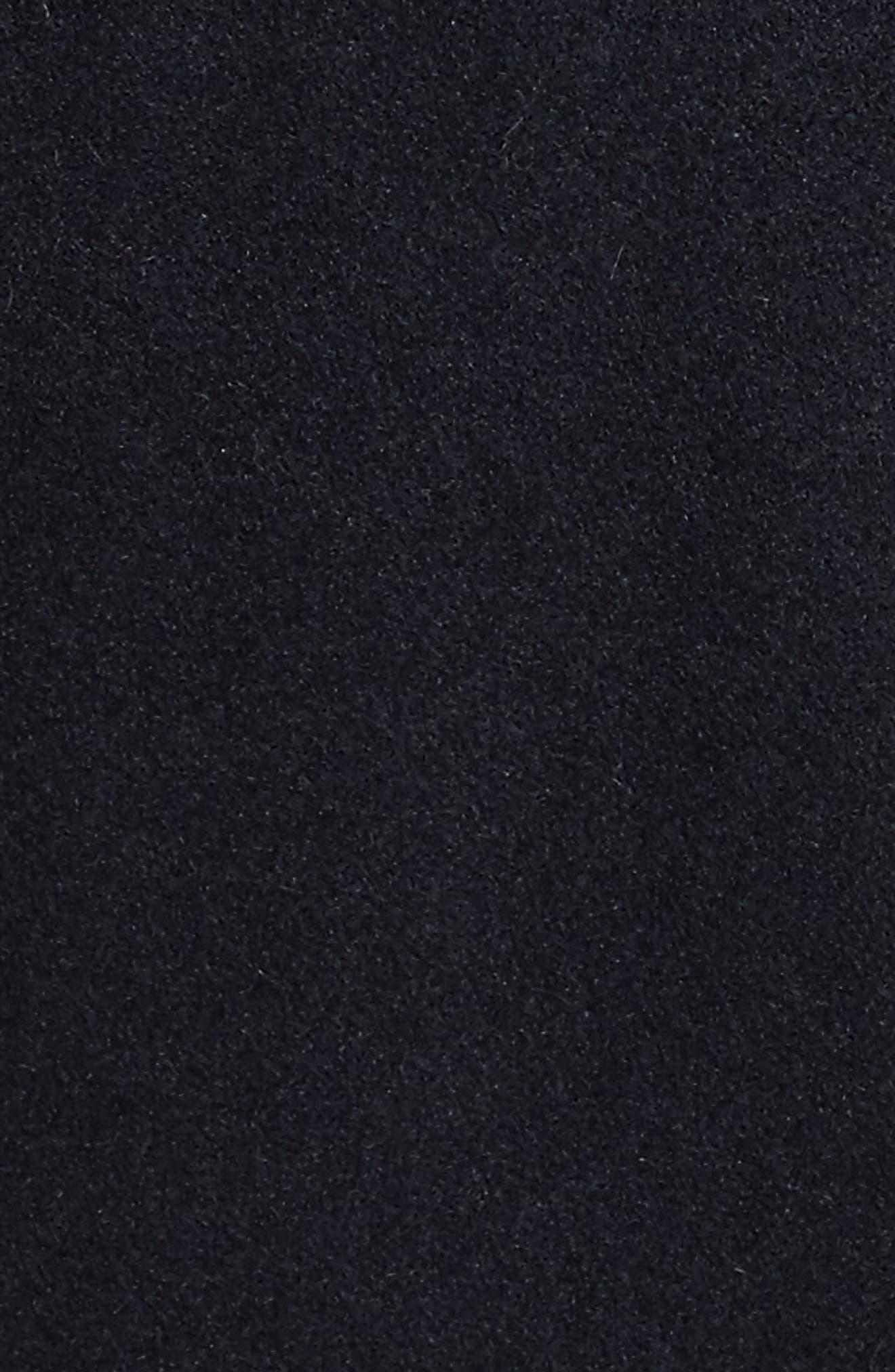 Cole Haan Melton Wool Blend Anorak,                             Alternate thumbnail 6, color,                             410