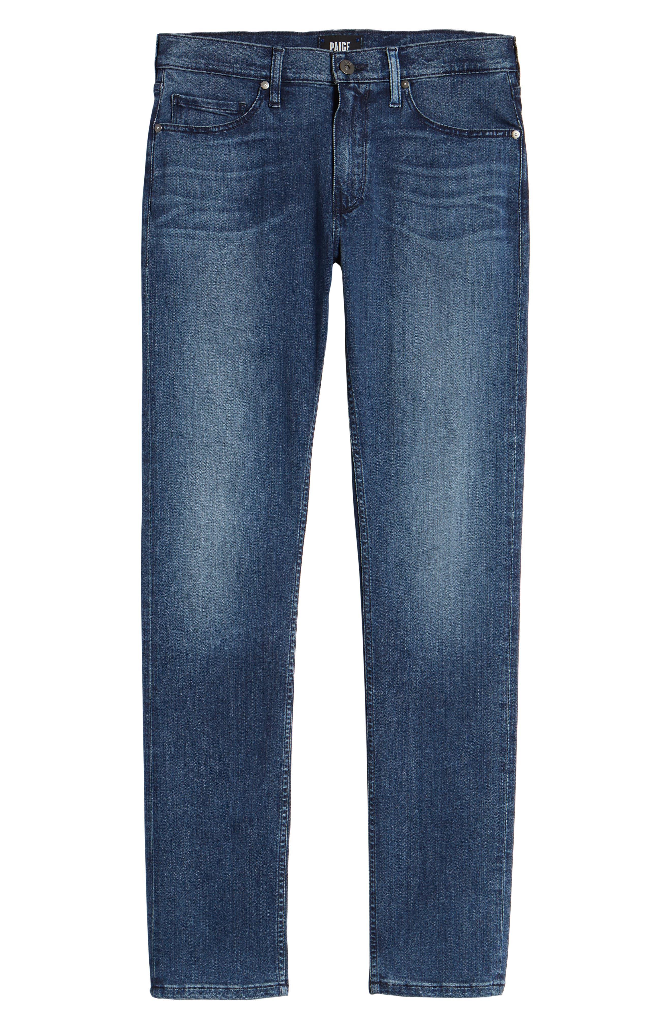 Lennox Slim Fit Jeans,                             Alternate thumbnail 6, color,                             400
