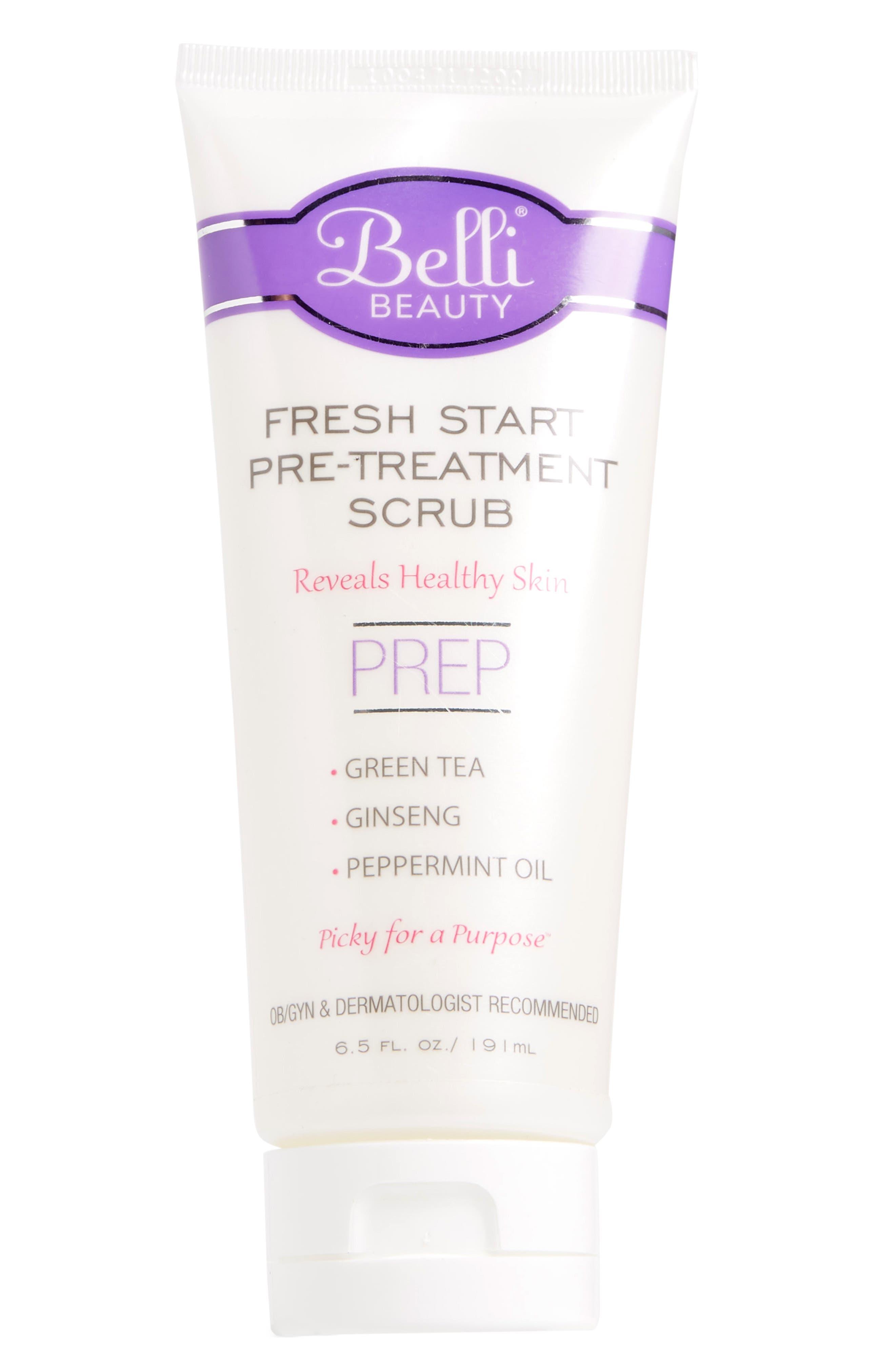Fresh Start Pre Treatment Scrub, Main, color, WHITE