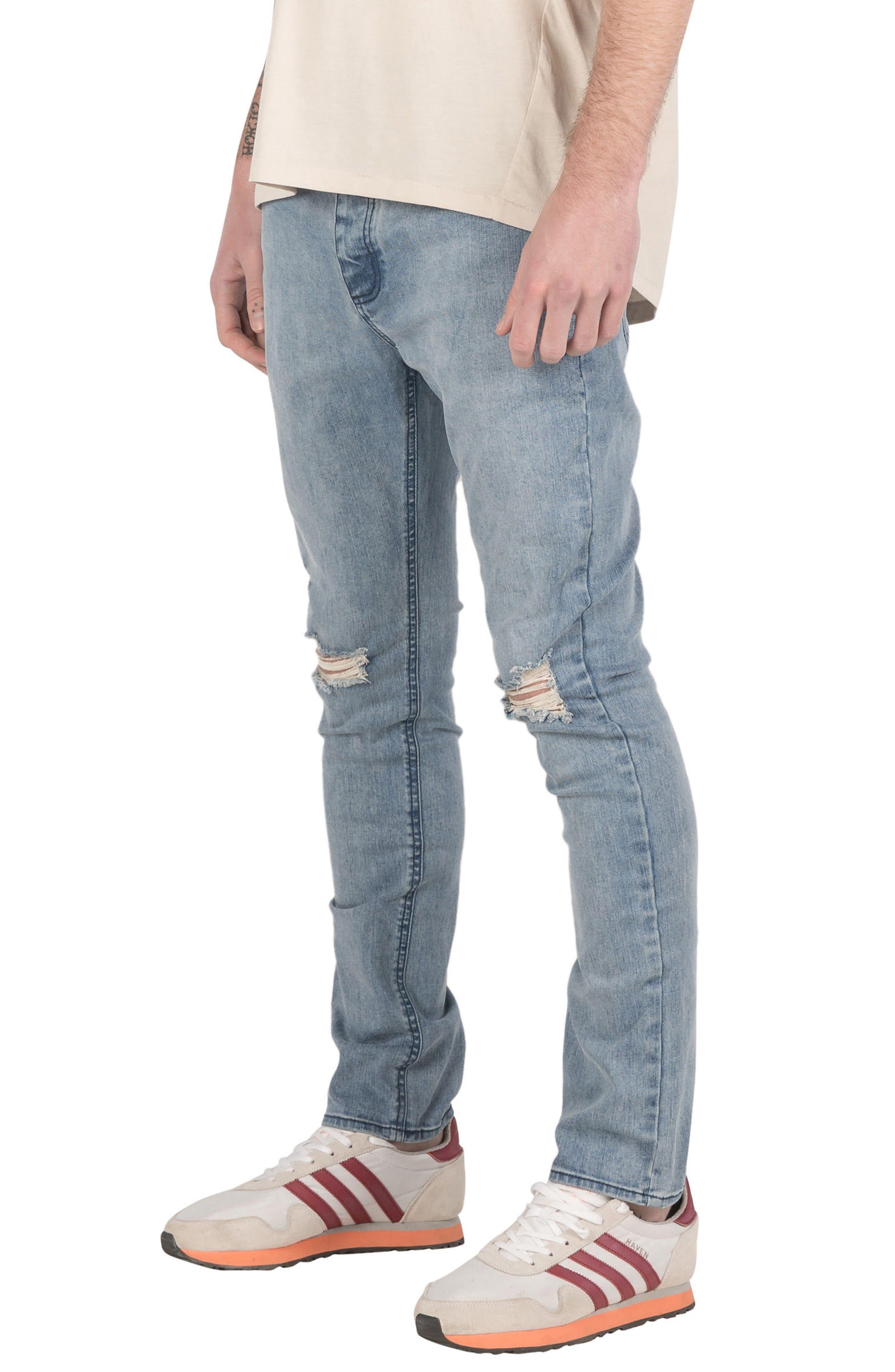 Joe Blow Destroyed Denim Jeans,                             Alternate thumbnail 5, color,                             420