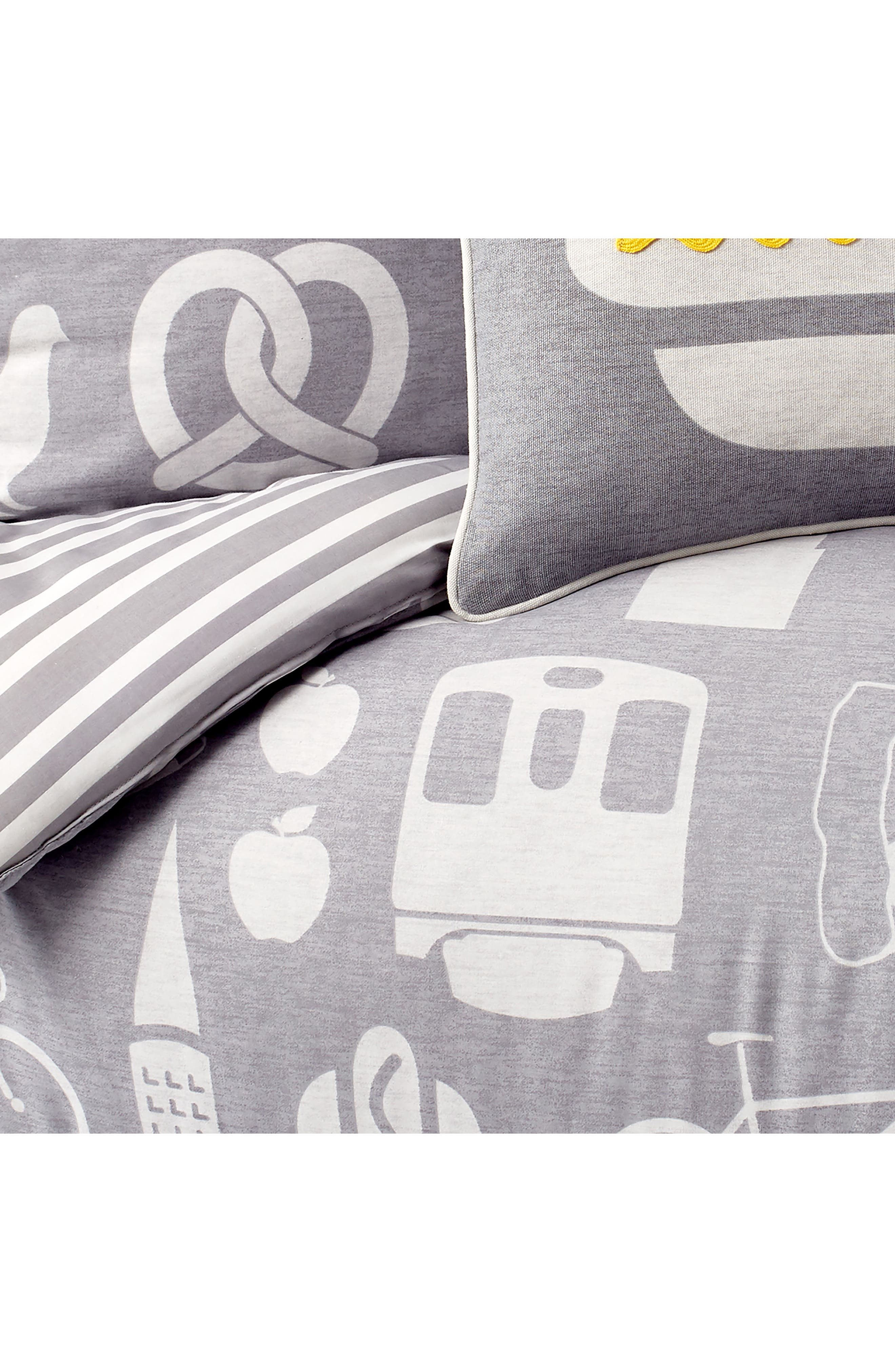 DKNY,                             NYC Comforter, Sham & Accent Pillow Set,                             Alternate thumbnail 2, color,                             GREY