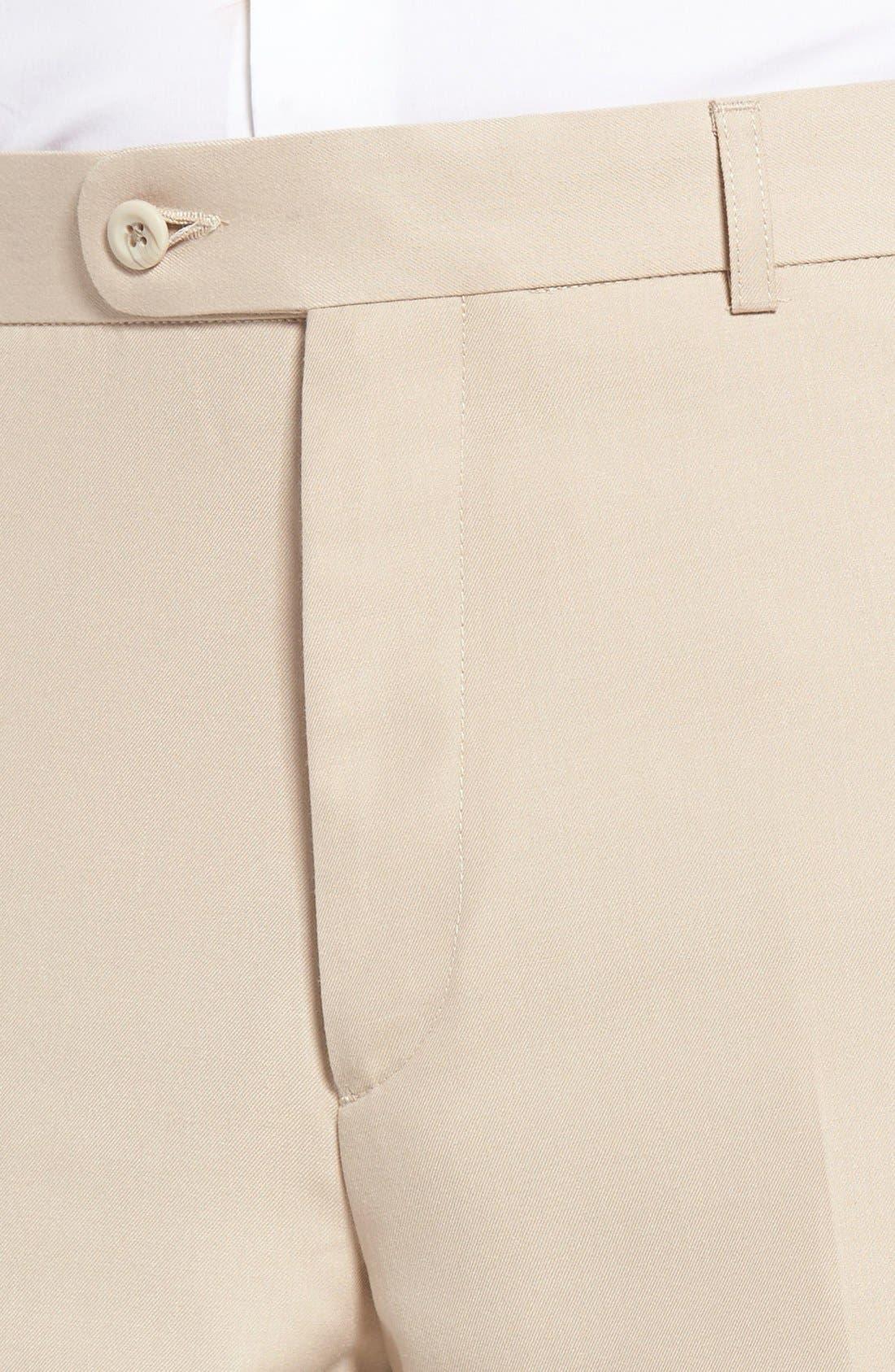 'Travel Genius - Hawk' Flat Front Pants,                             Alternate thumbnail 25, color,