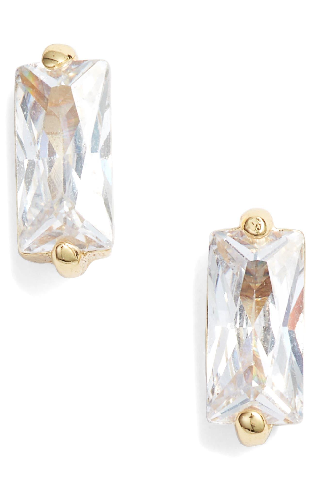 Amara Stud Earrings,                         Main,                         color, GOLD
