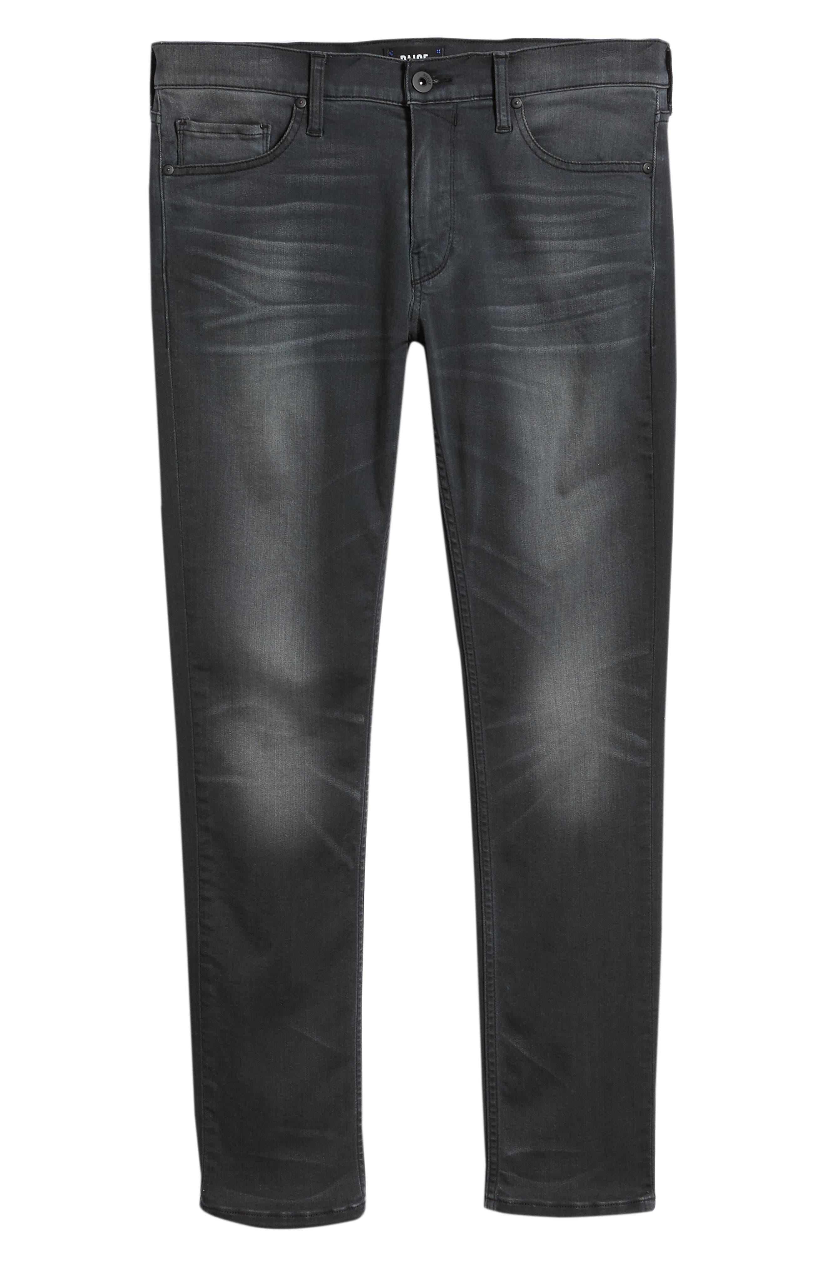 Transcend - Normandie Straight Leg Jeans,                             Alternate thumbnail 6, color,                             SHELDON