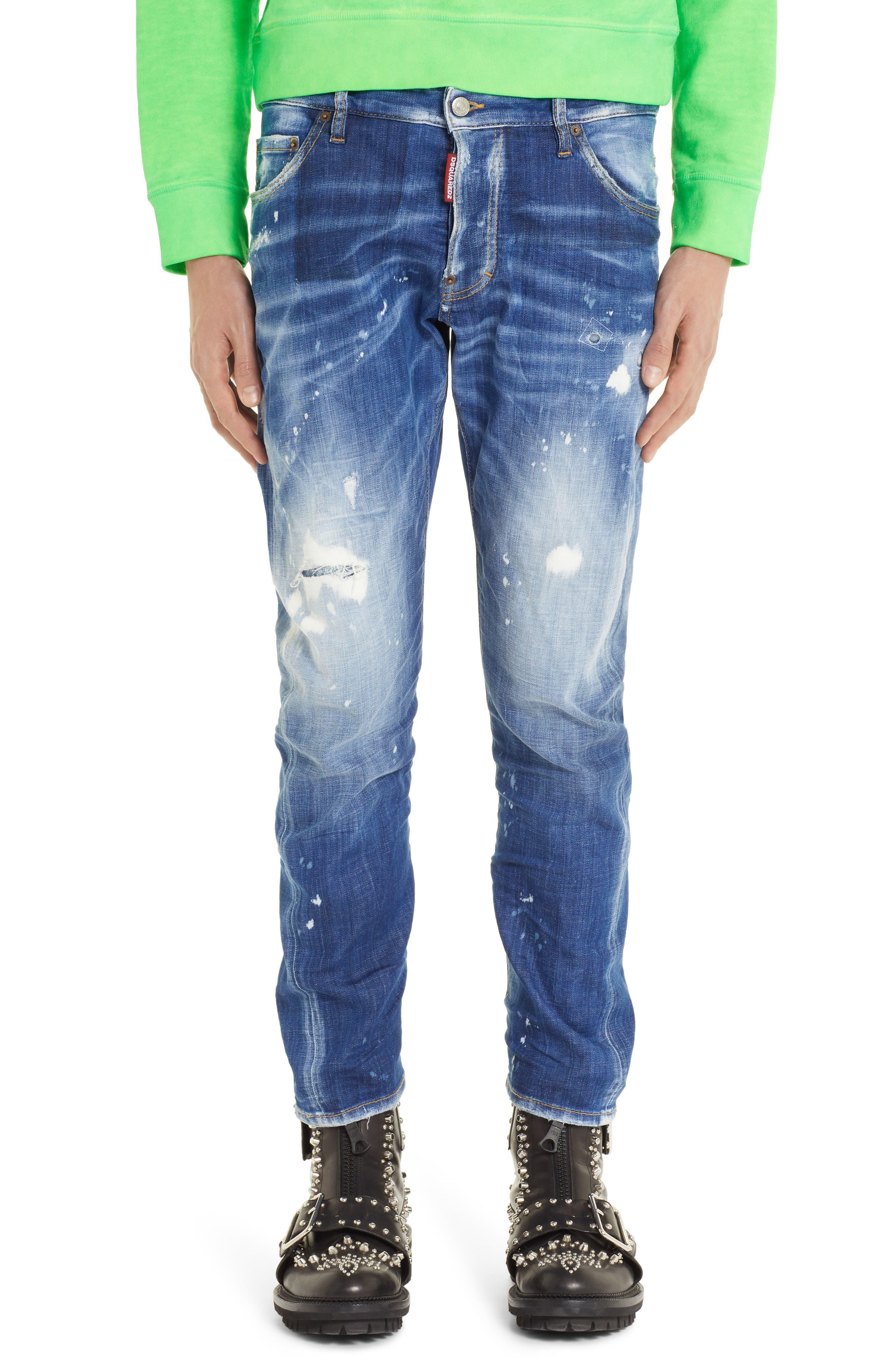 Cool Guy Jeans,                             Main thumbnail 1, color,                             BLUE