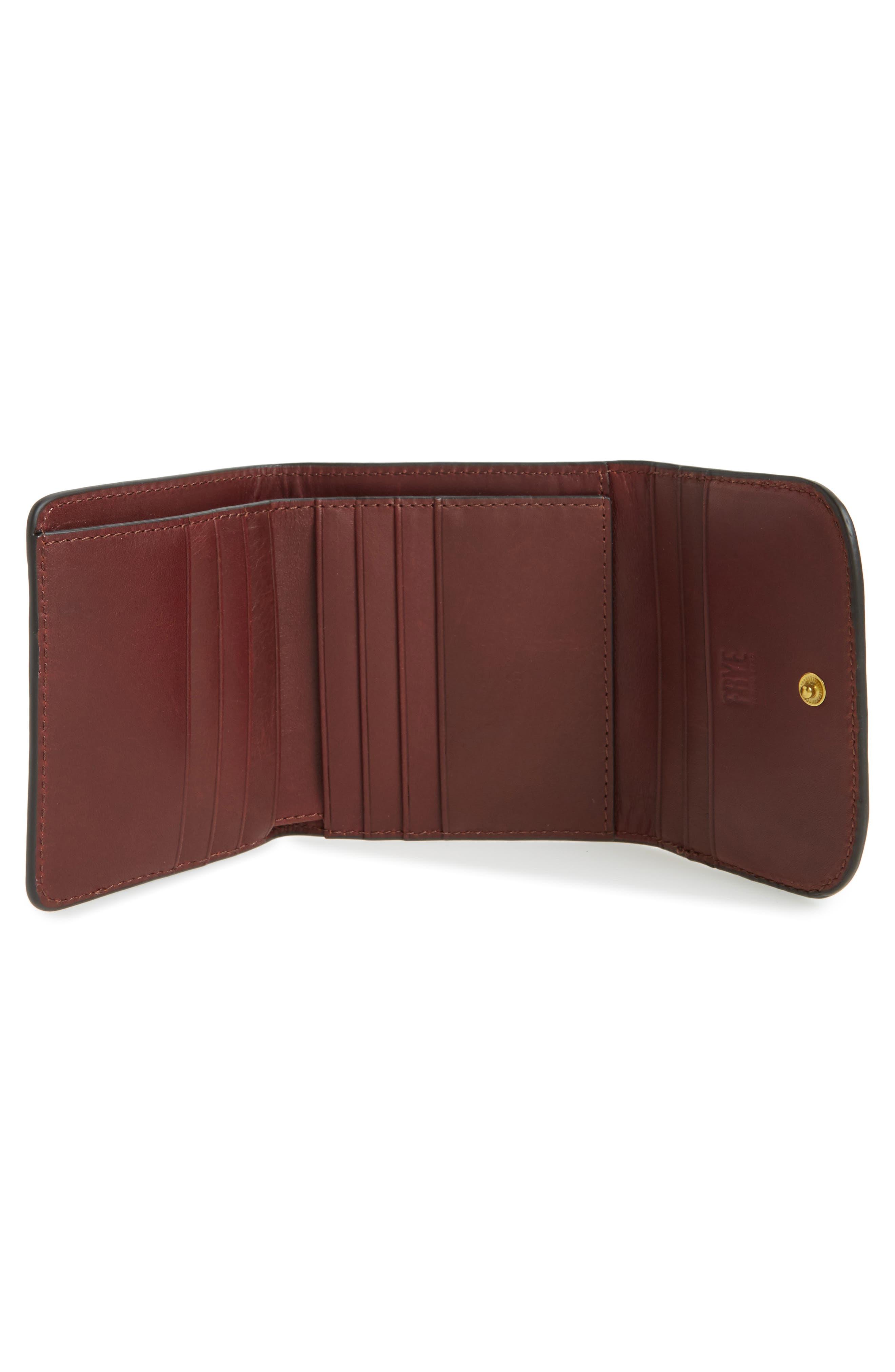 Medium Campus Rivet Leather Wallet,                             Alternate thumbnail 2, color,                             210