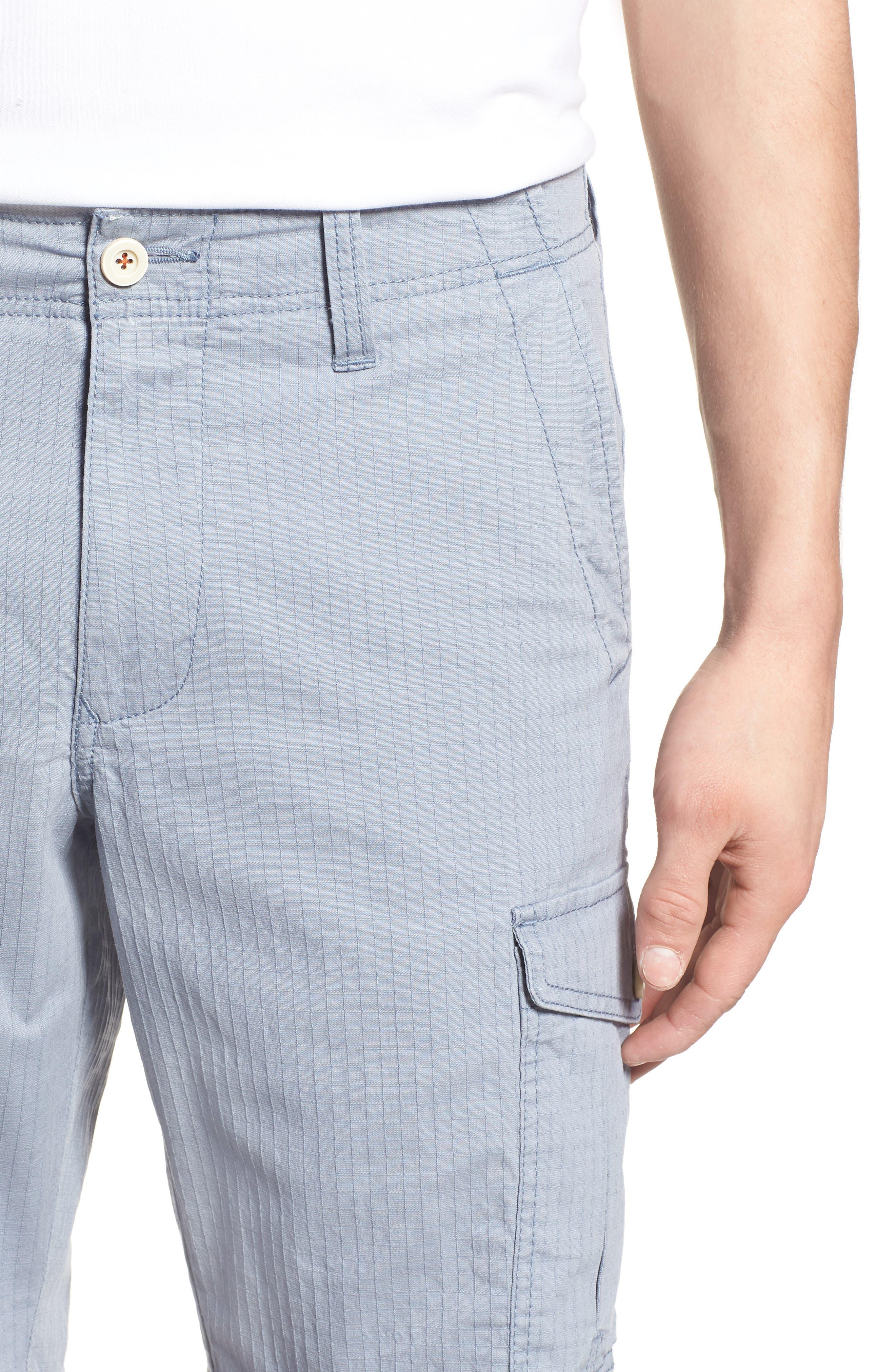 Sandbar Ripstop Cargo Shorts,                             Alternate thumbnail 4, color,                             401