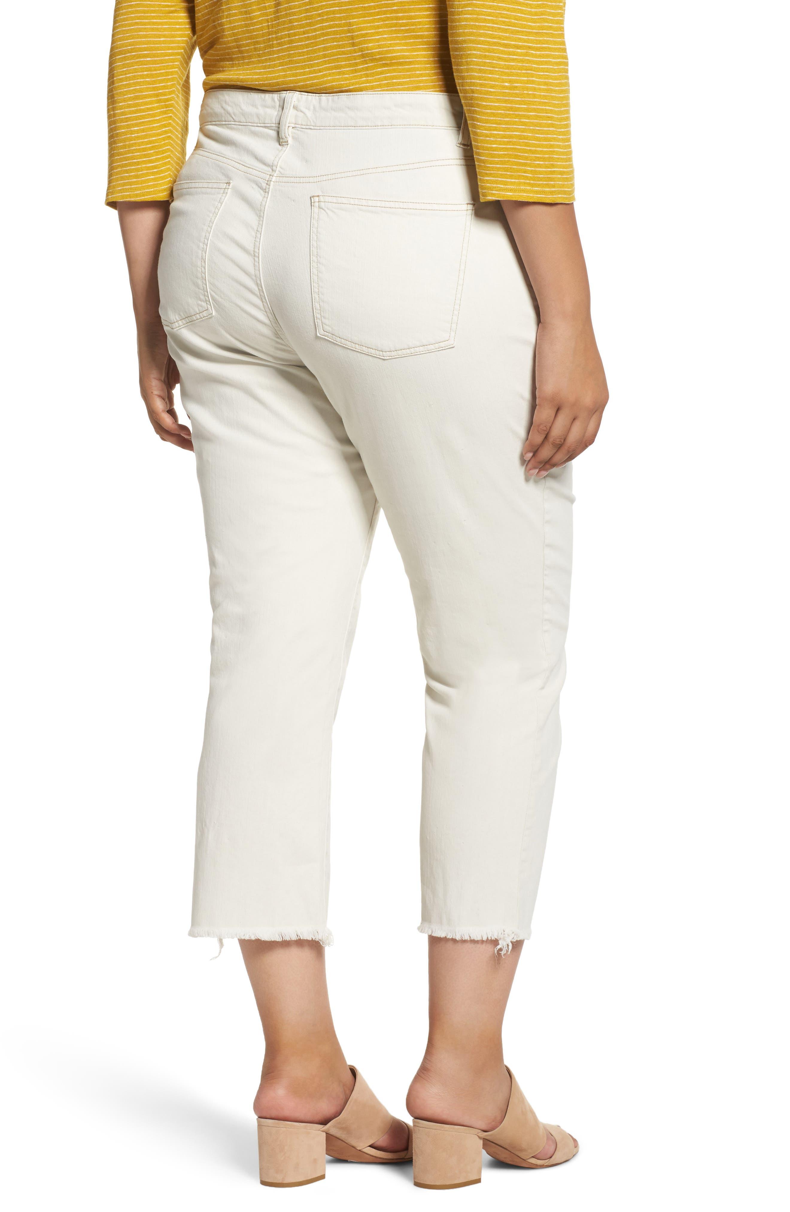 Stretch Organic Denim Crop Jeans,                             Alternate thumbnail 2, color,                             251