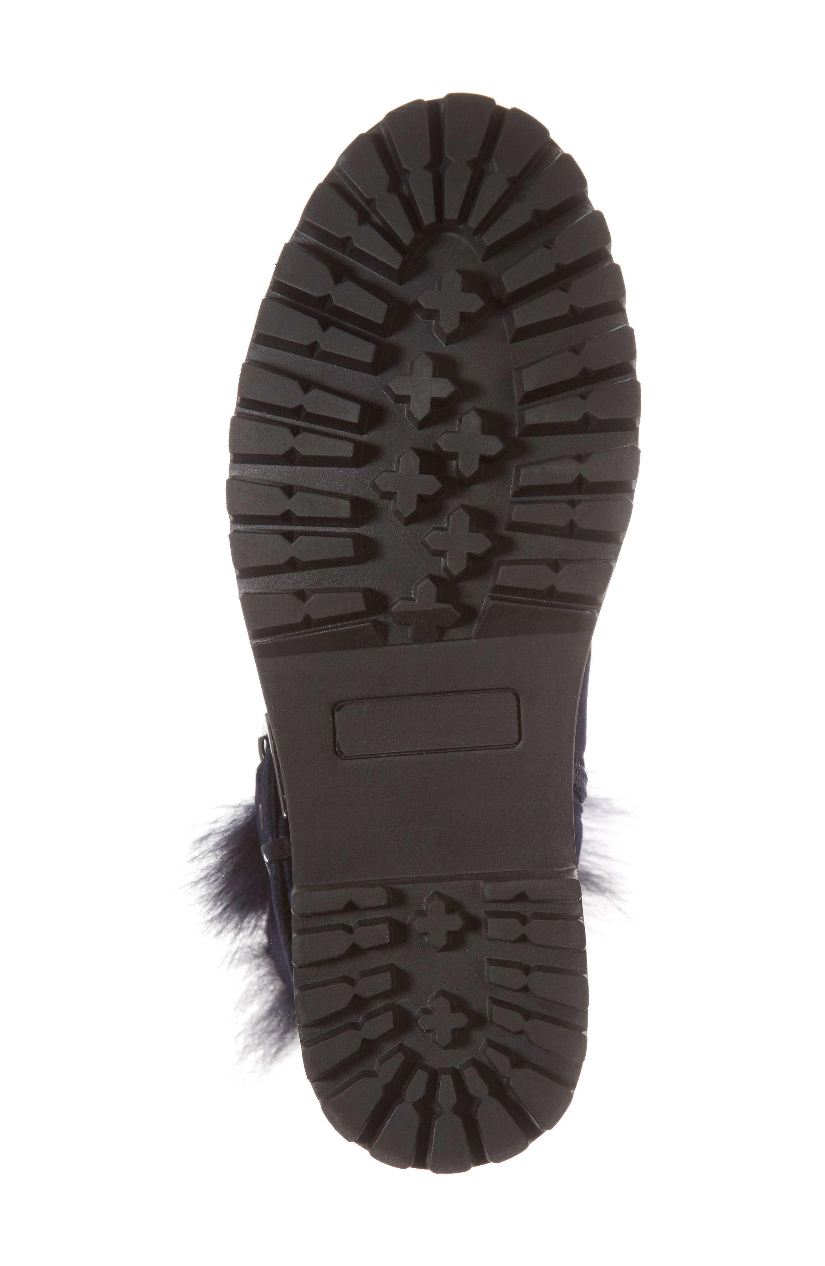 Theresa Boot with Genuine Fox Fur Trim,                             Alternate thumbnail 12, color,