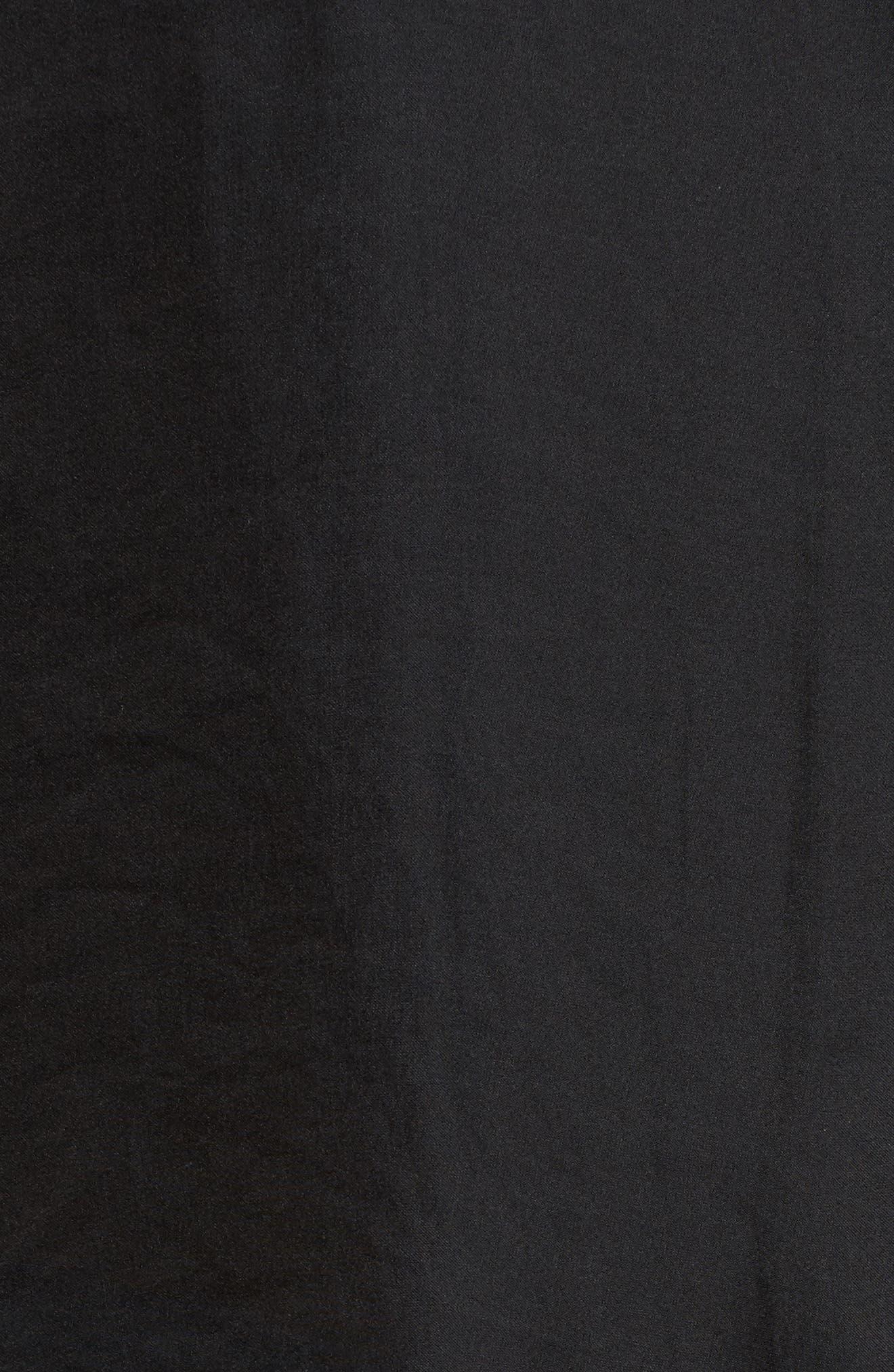 Satin Henley,                             Alternate thumbnail 5, color,                             001