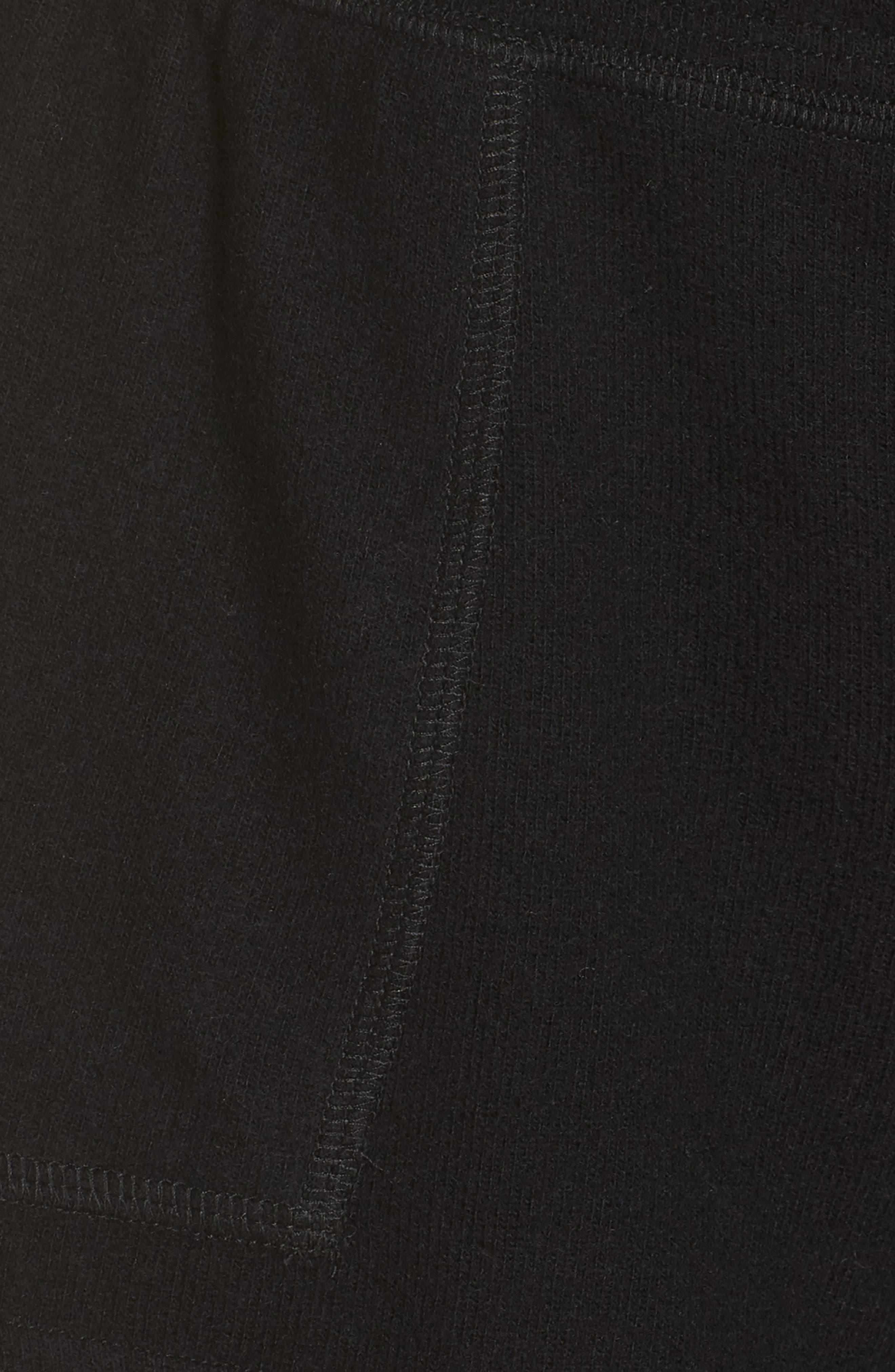 Daze Shorts,                             Alternate thumbnail 6, color,                             BLACK