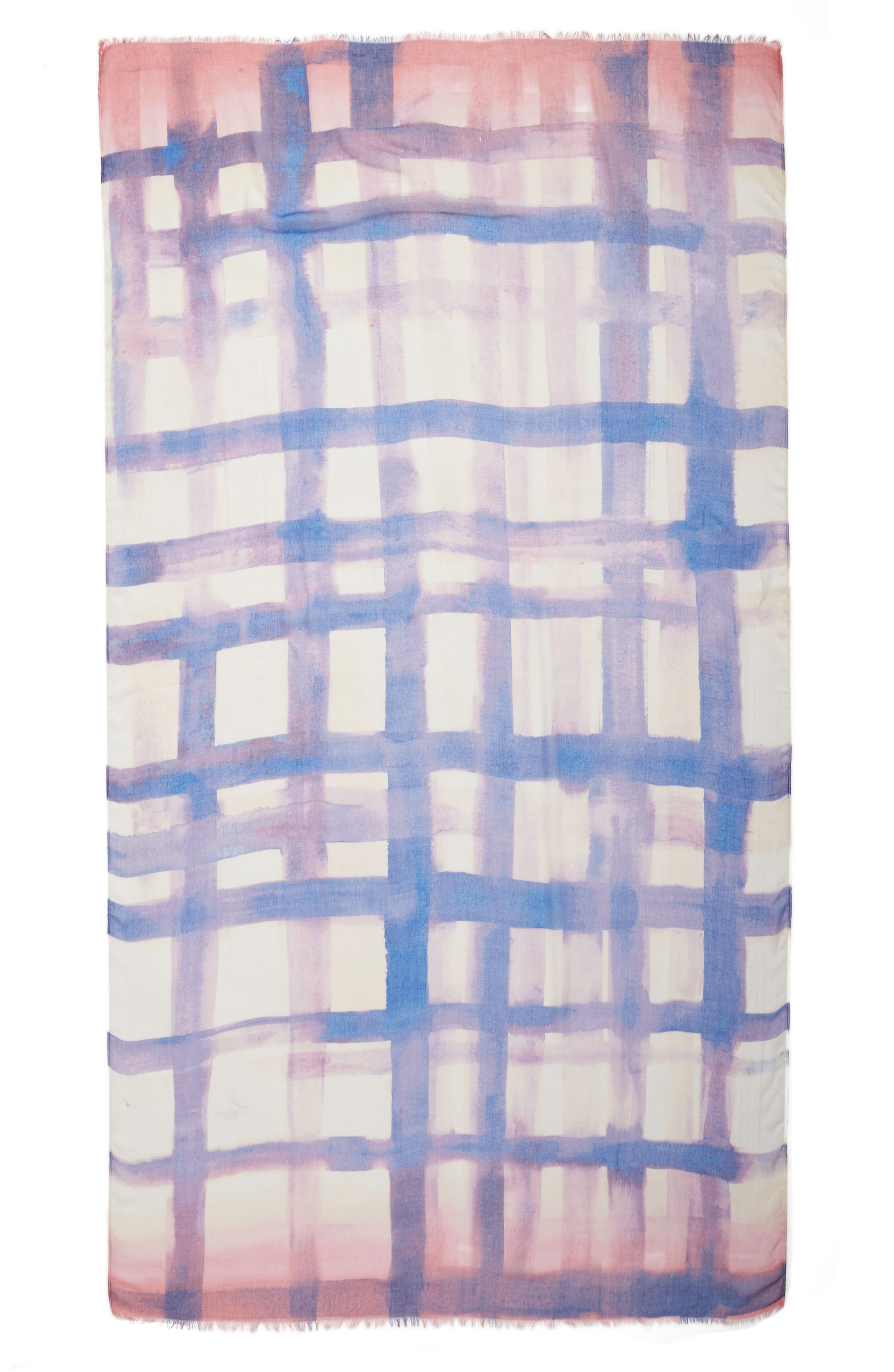 Print Modal & Silk Scarf,                             Alternate thumbnail 43, color,