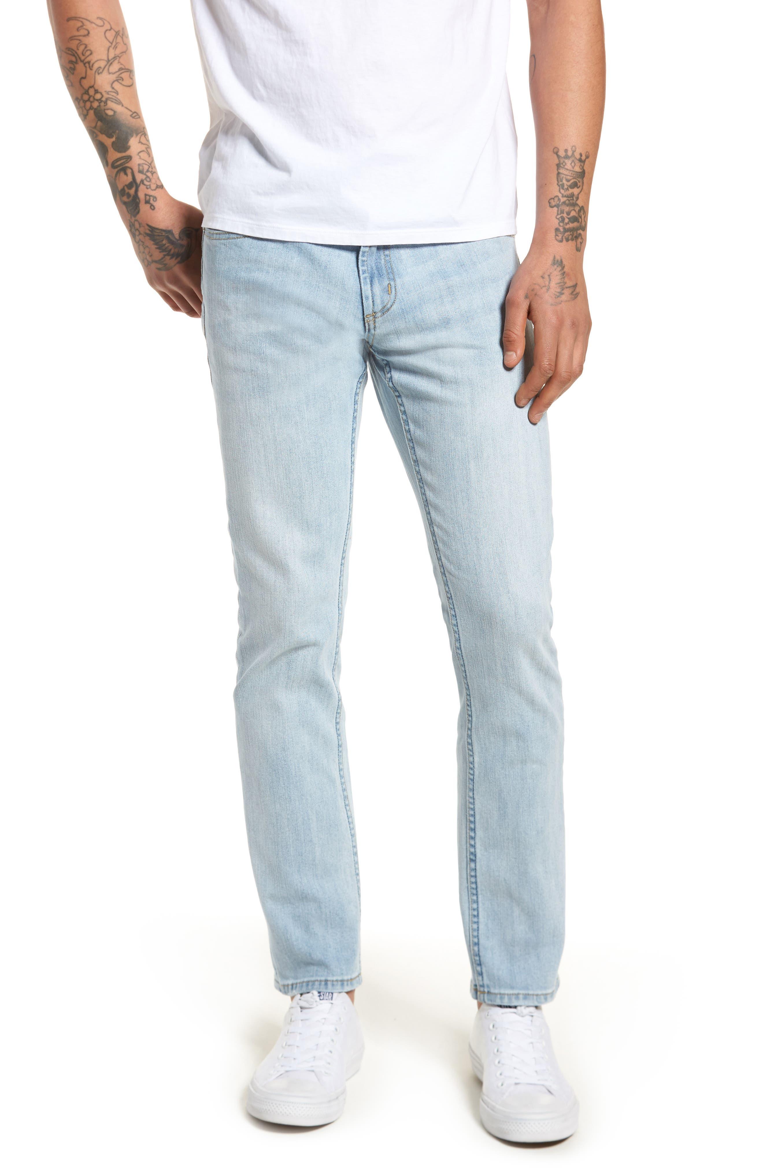 Juvee II Skinny Fit Jeans,                             Main thumbnail 1, color,                             400