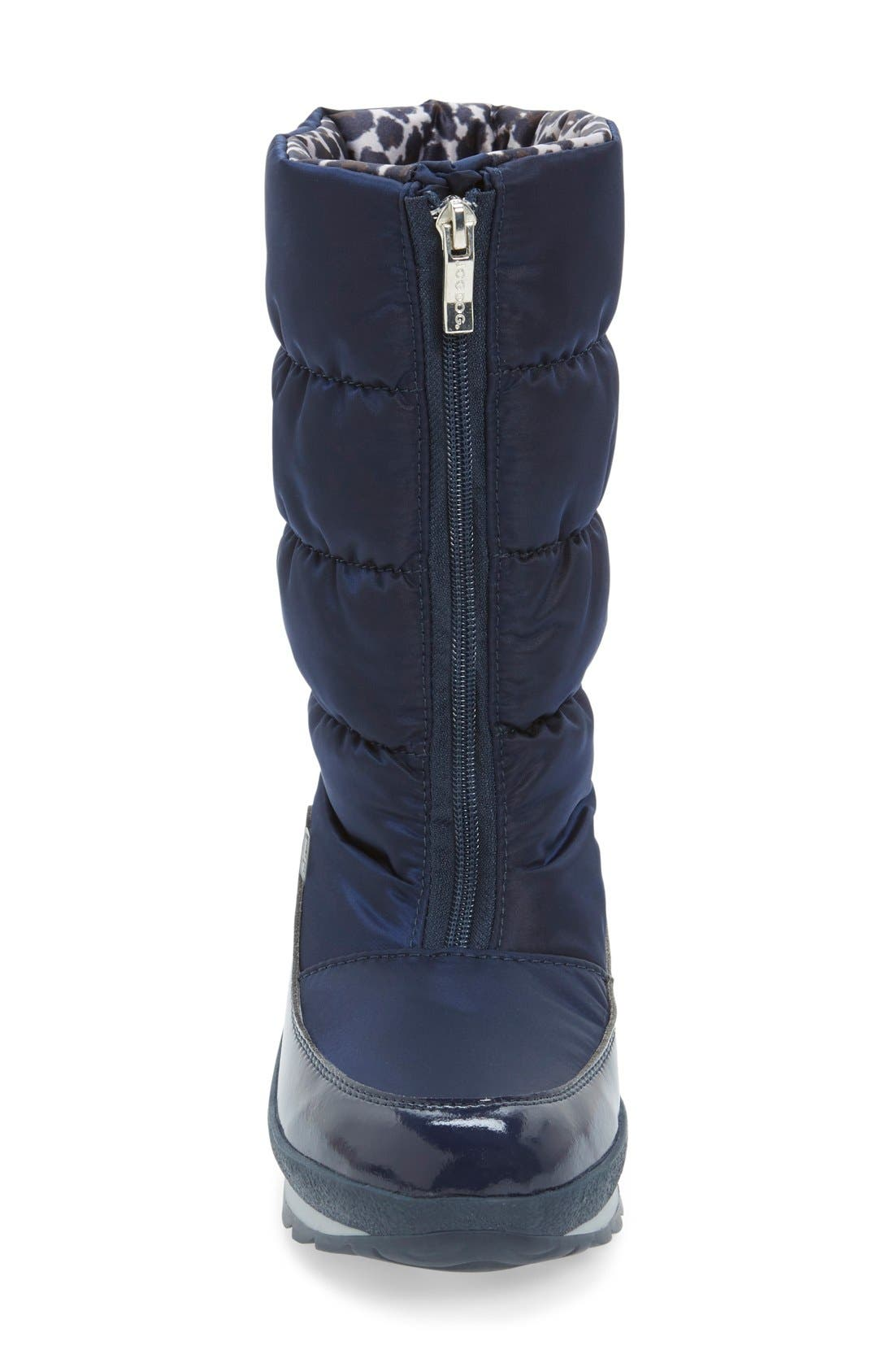 Cervina Waterproof Zip-Up Channel Quilted Boot,                             Alternate thumbnail 12, color,