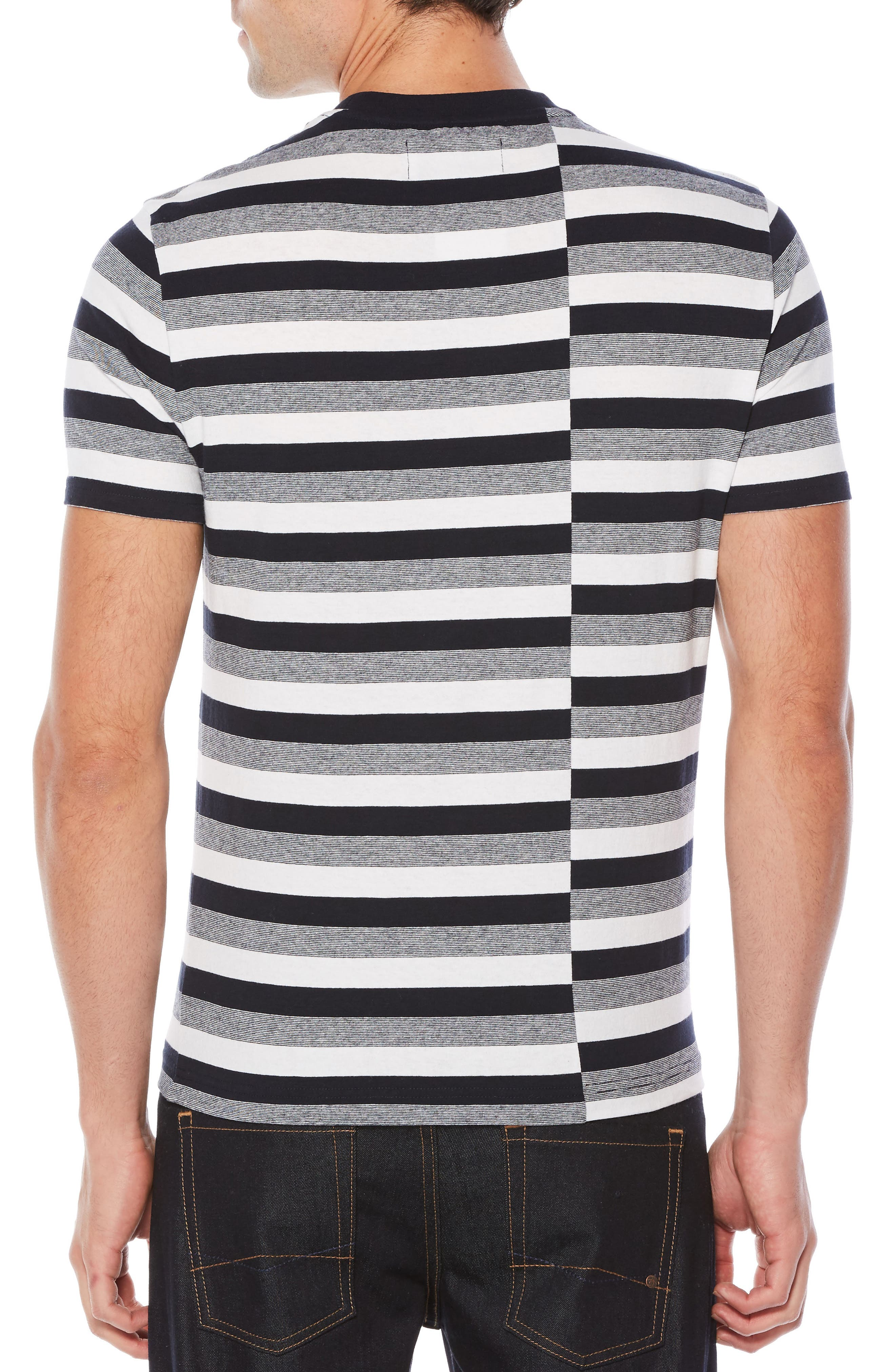 Auto Stripe T-Shirt,                             Alternate thumbnail 2, color,                             413