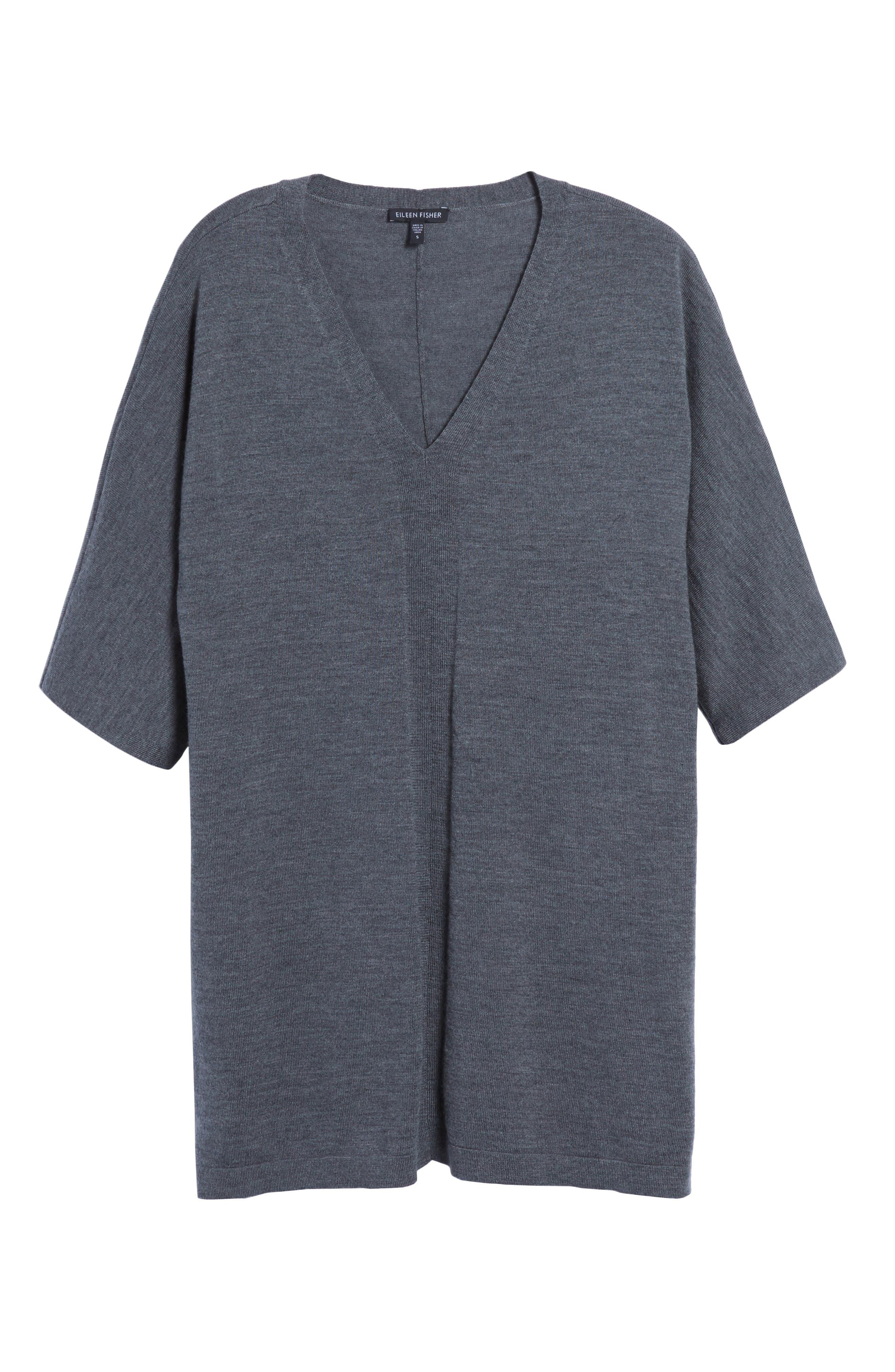 Merino Wool Tunic Sweater,                             Alternate thumbnail 37, color,