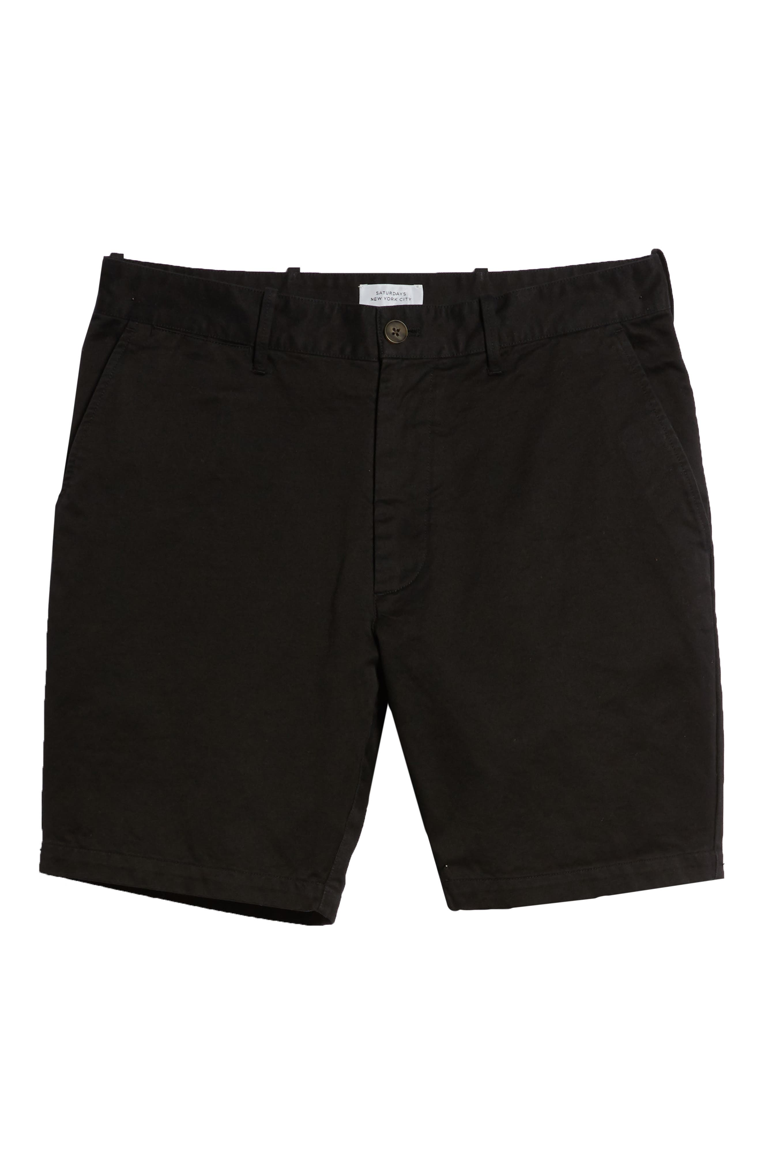 SATURDAYS NYC,                             Evan Shorts,                             Alternate thumbnail 6, color,                             001