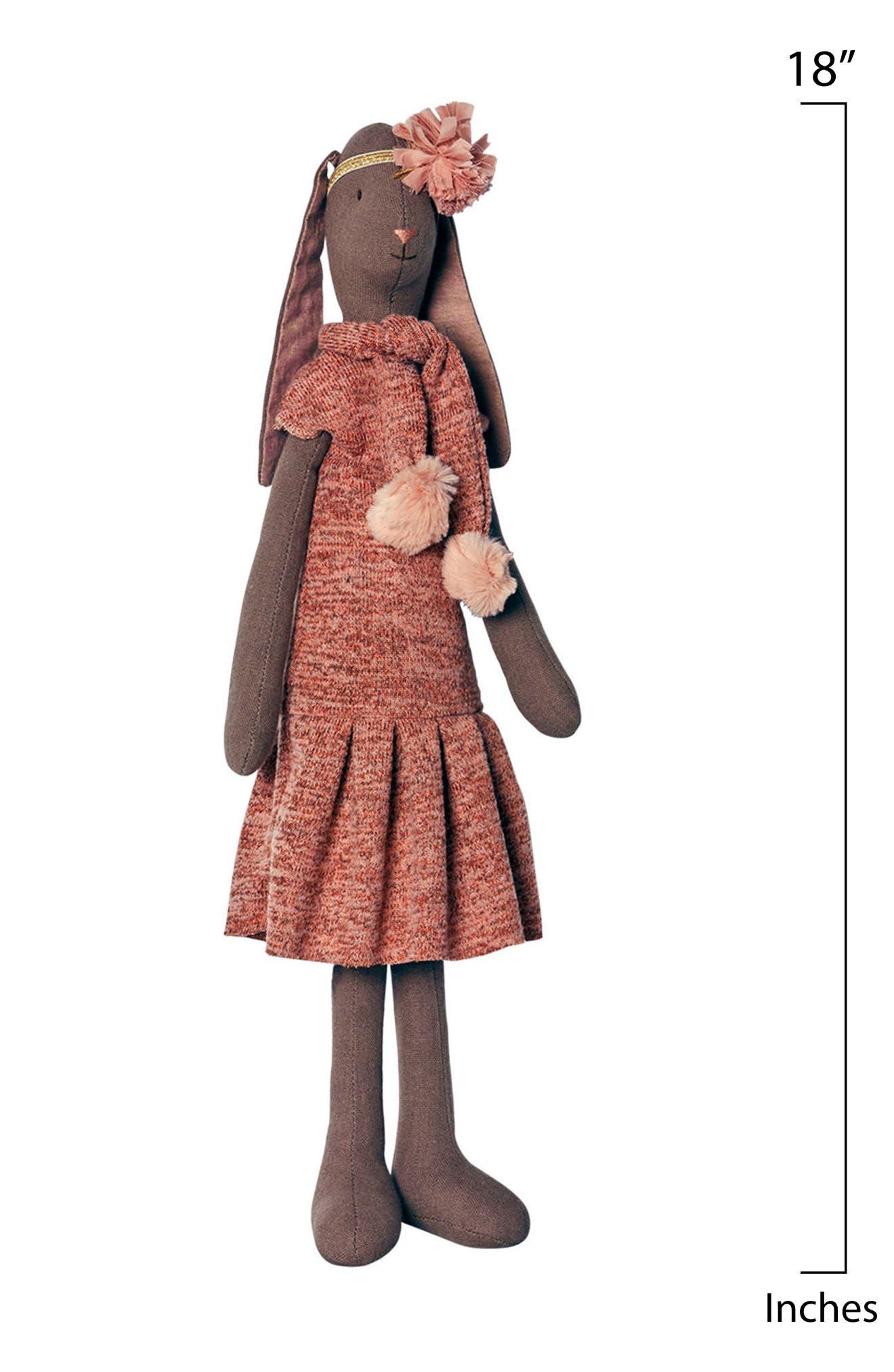Medium Valerie Bunny Stuffed Animal,                             Alternate thumbnail 2, color,                             200