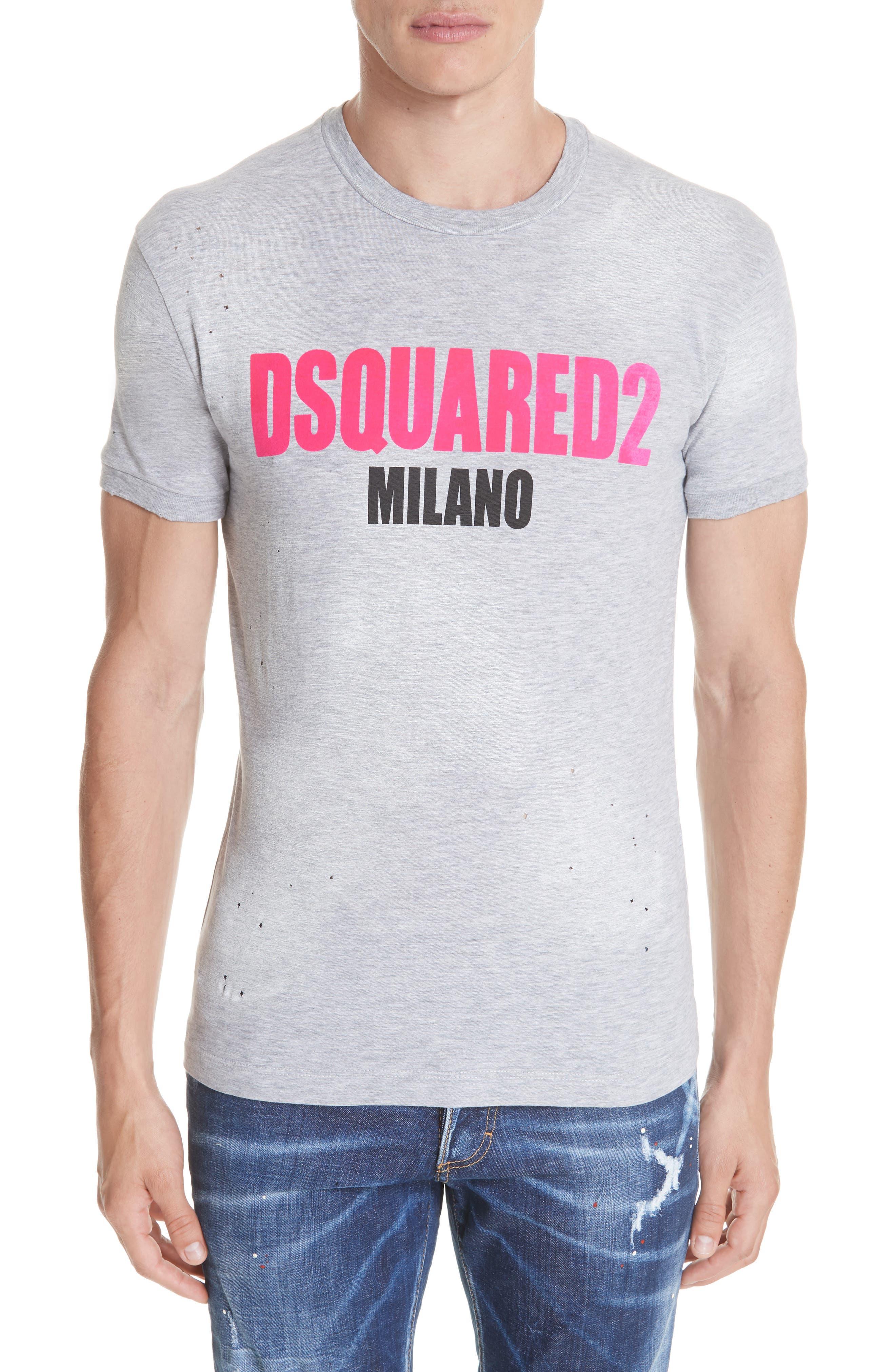 Milano Logo T-Shirt,                             Main thumbnail 1, color,                             020