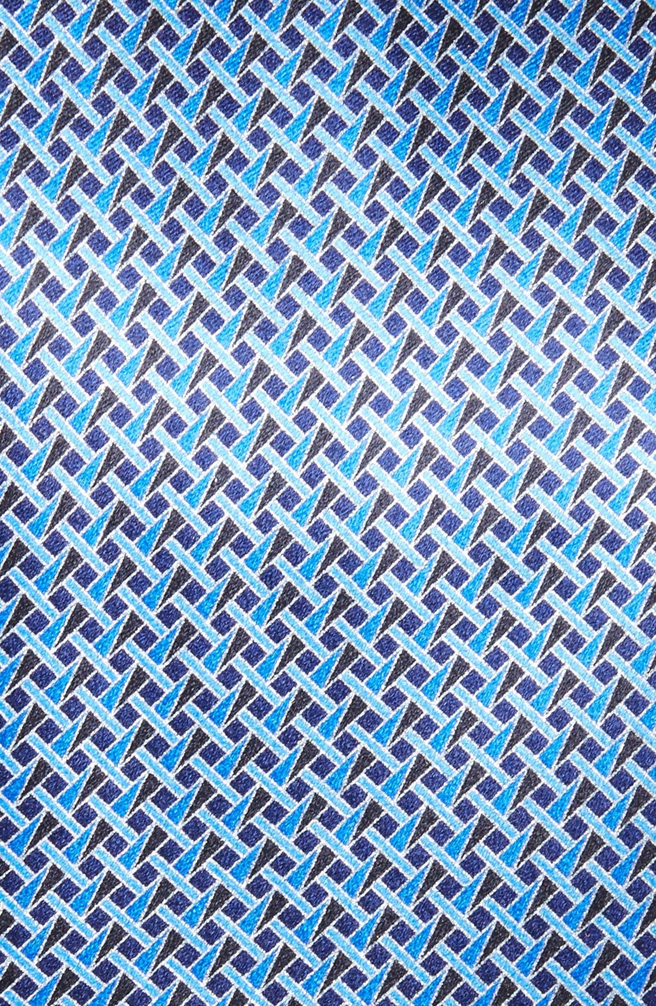 Geometric Silk Tie,                             Alternate thumbnail 5, color,