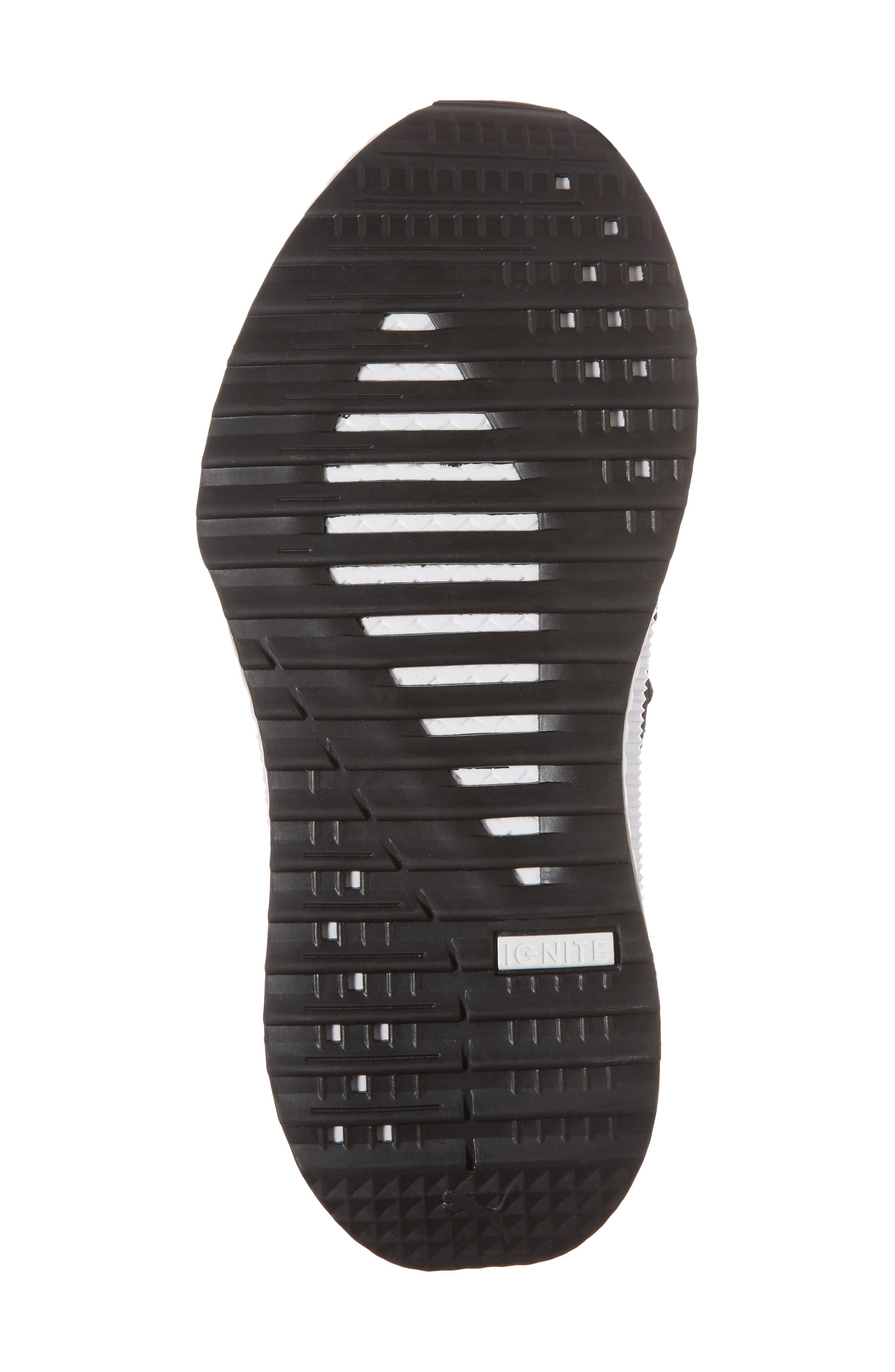 Tsugi Jun Knit Sneaker,                             Alternate thumbnail 6, color,                             001