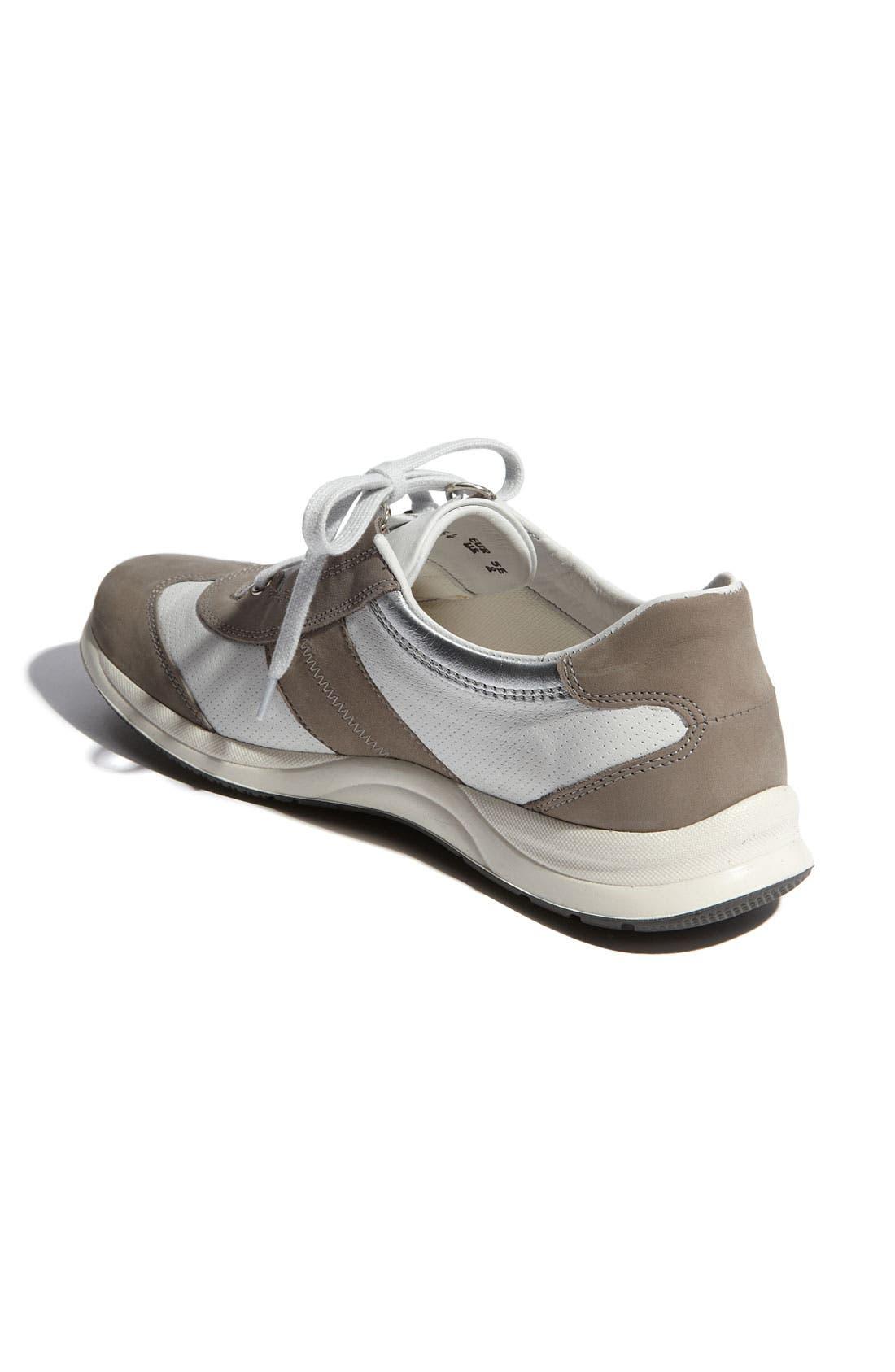 Laser Perforated Walking Shoe,                             Alternate thumbnail 21, color,